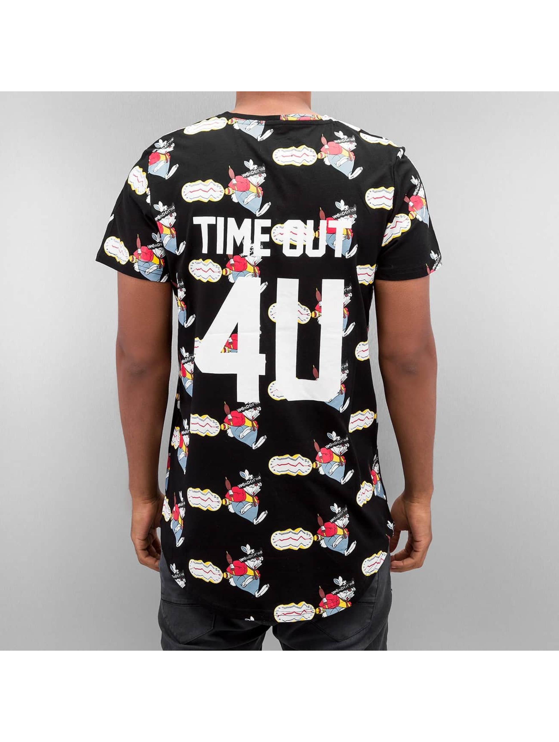 Sixth June t-shirt Time Out zwart