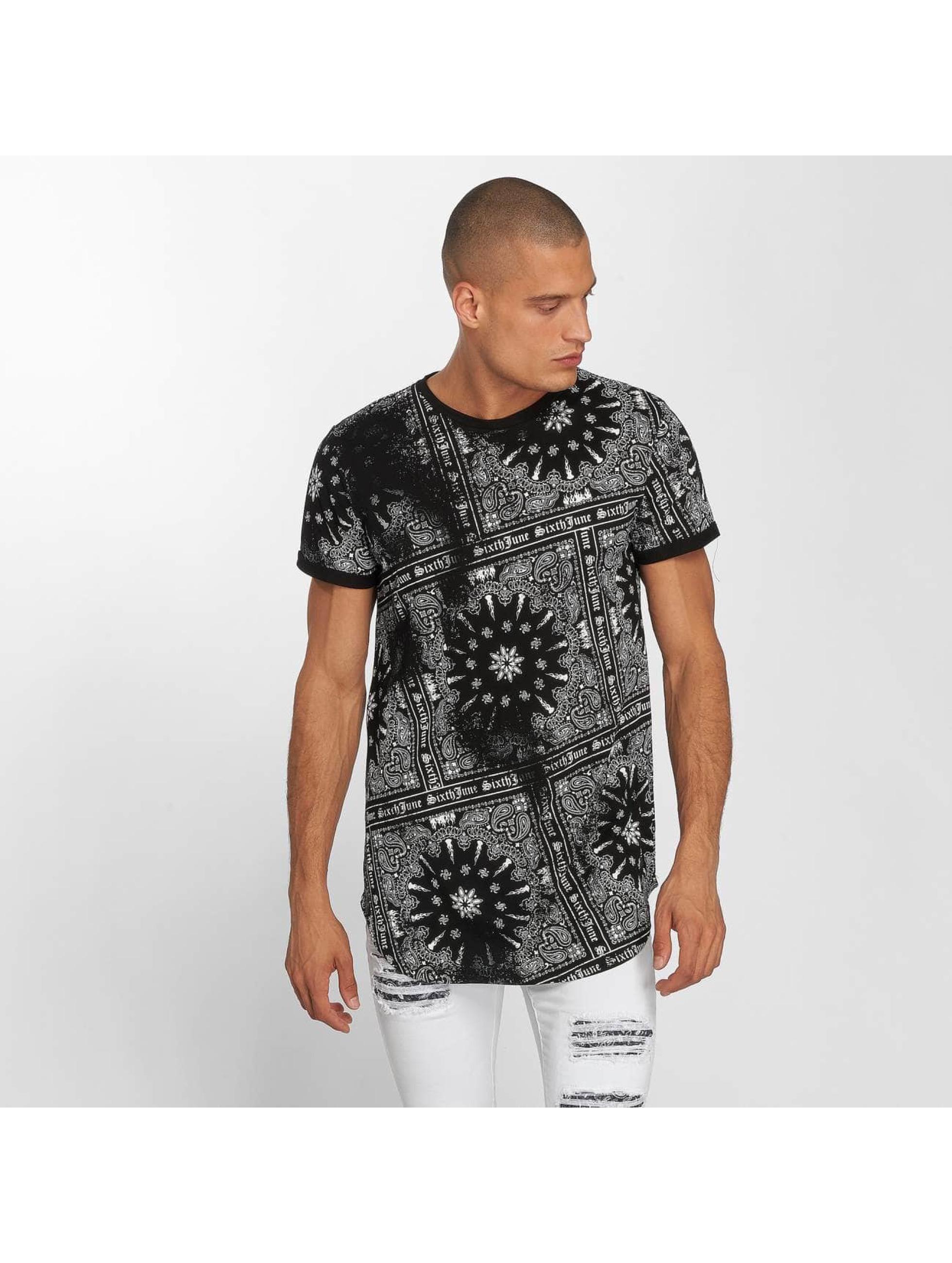 Sixth June t-shirt Myron zwart