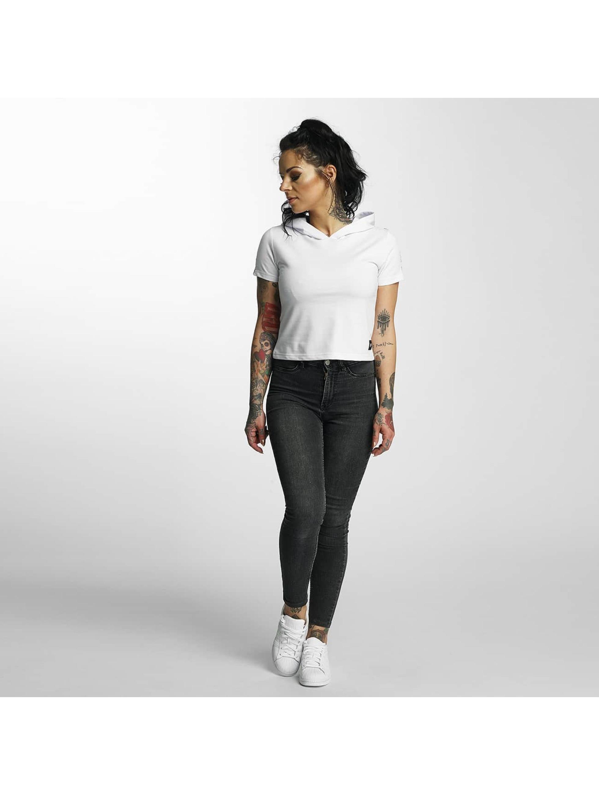 Sixth June T-shirts Hooded hvid