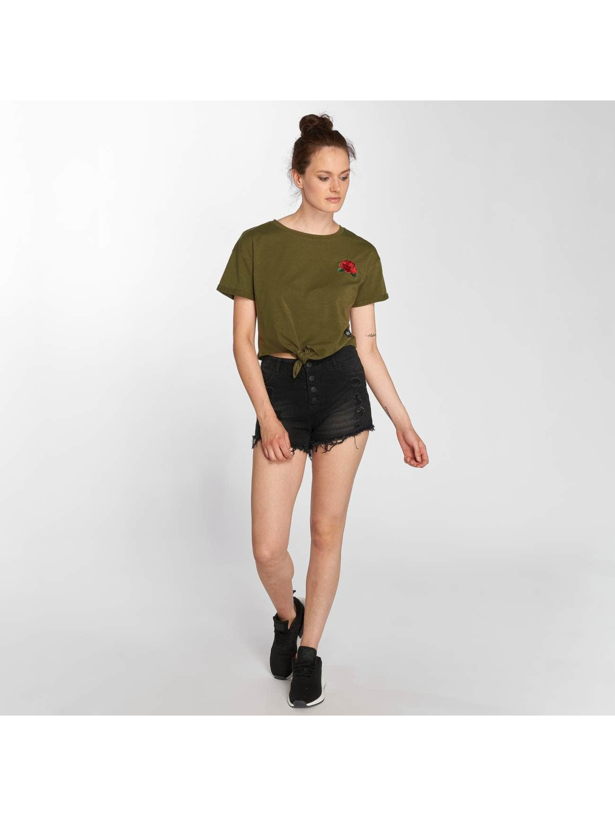 Sixth June T-shirts Luisa khaki