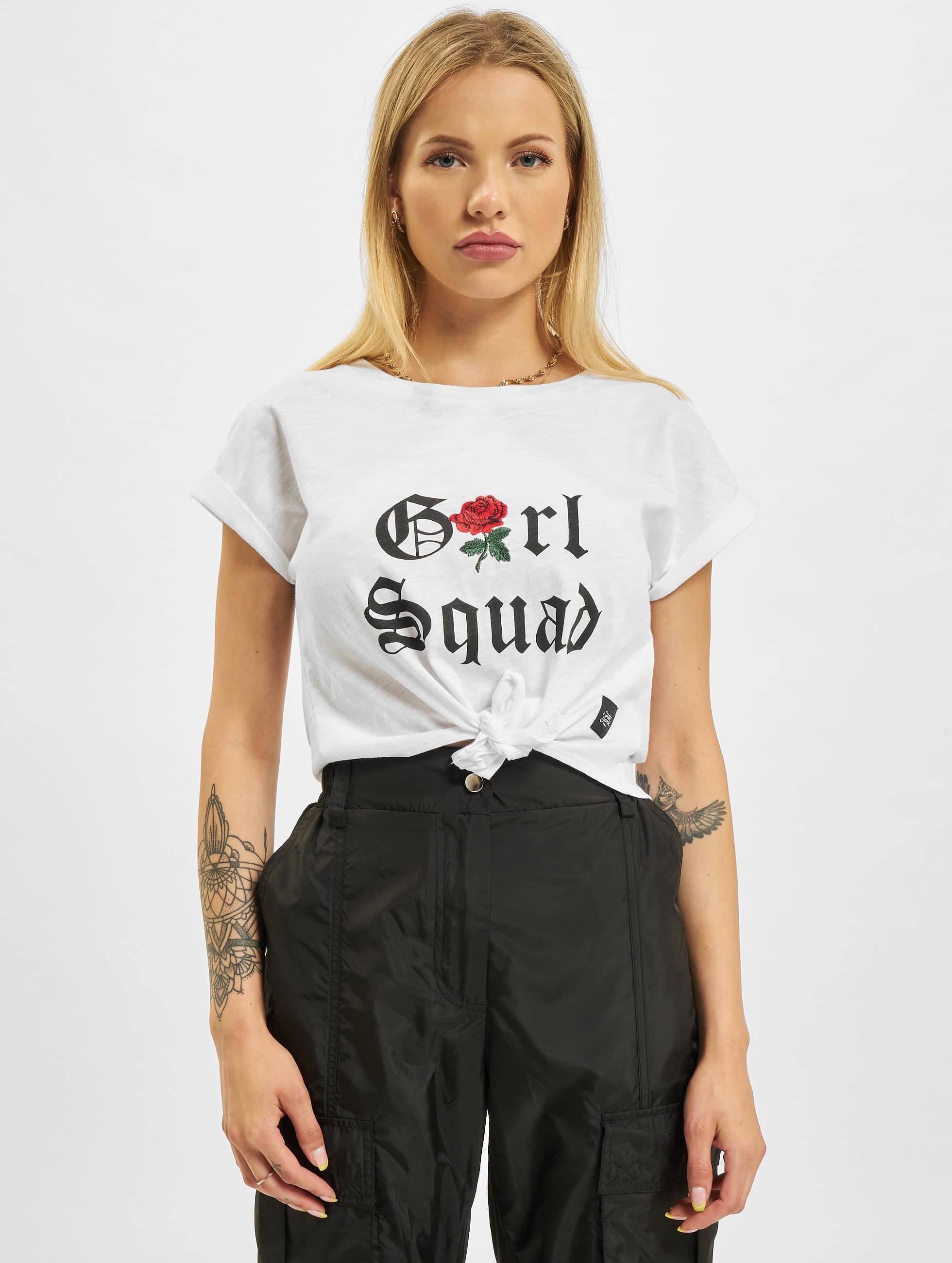 Sixth June T-Shirty Girl Squad bialy