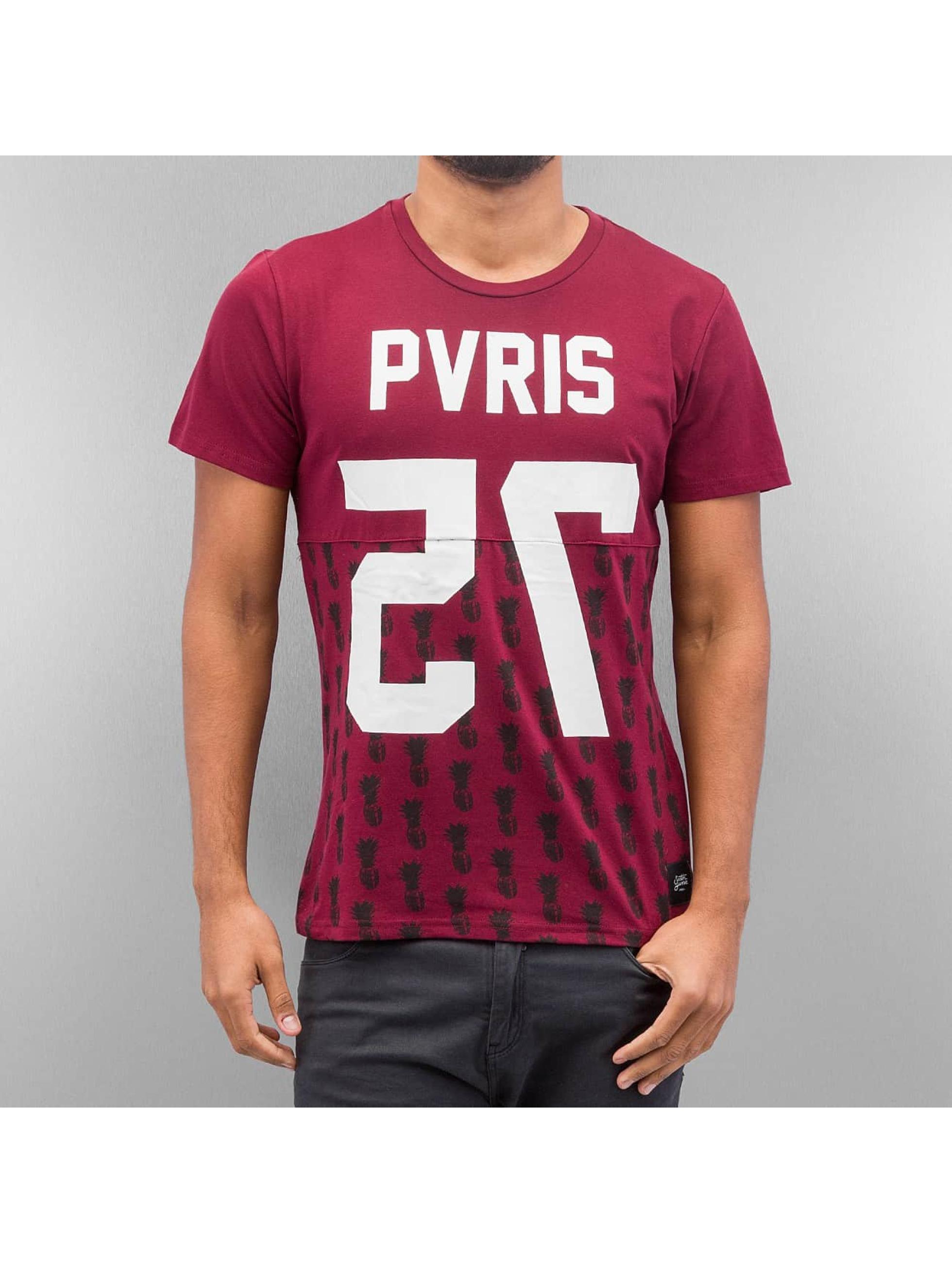Sixth June T-Shirty Paris 75 czerwony