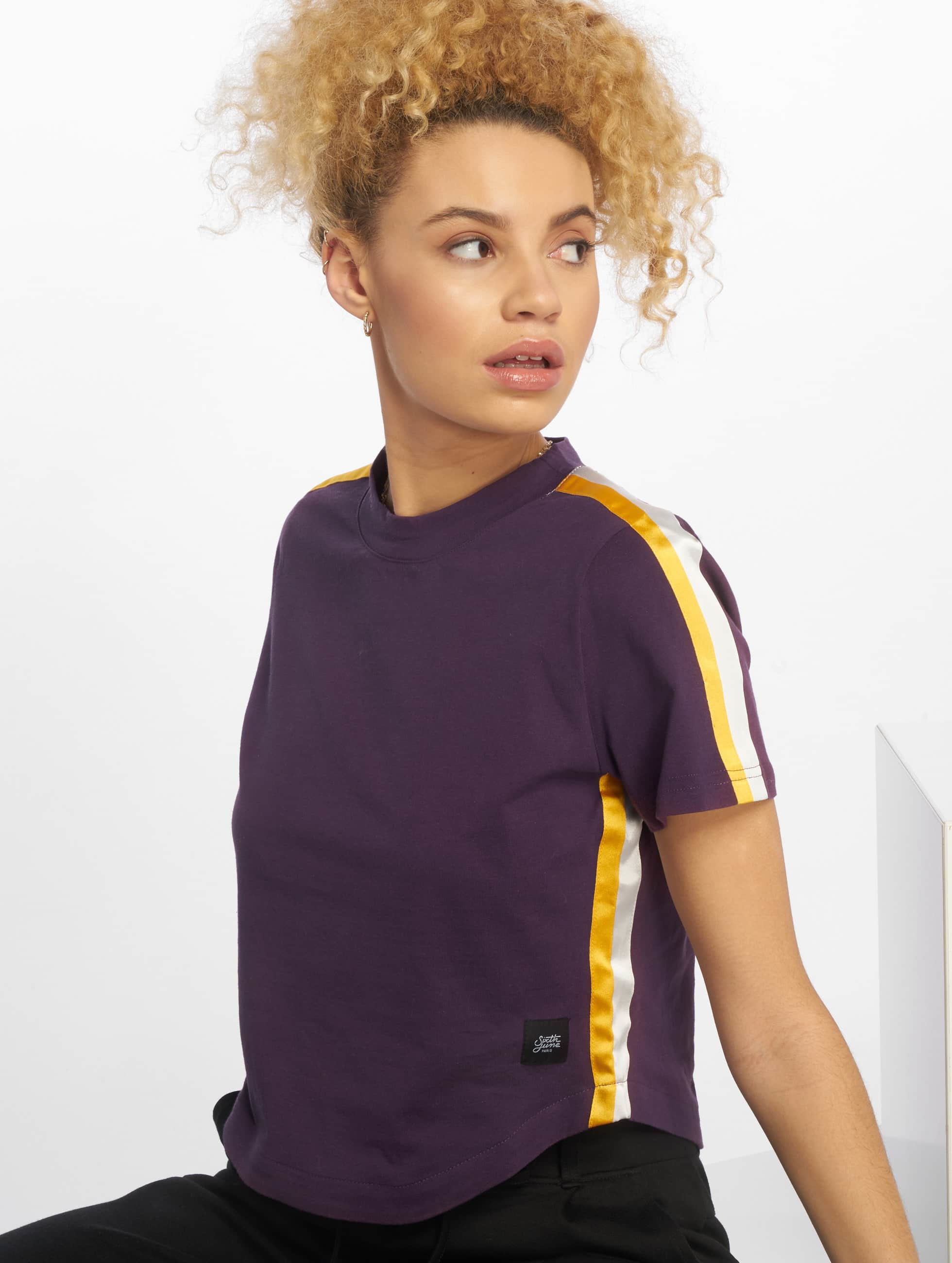 Sixth June T-Shirty Shorty fioletowy