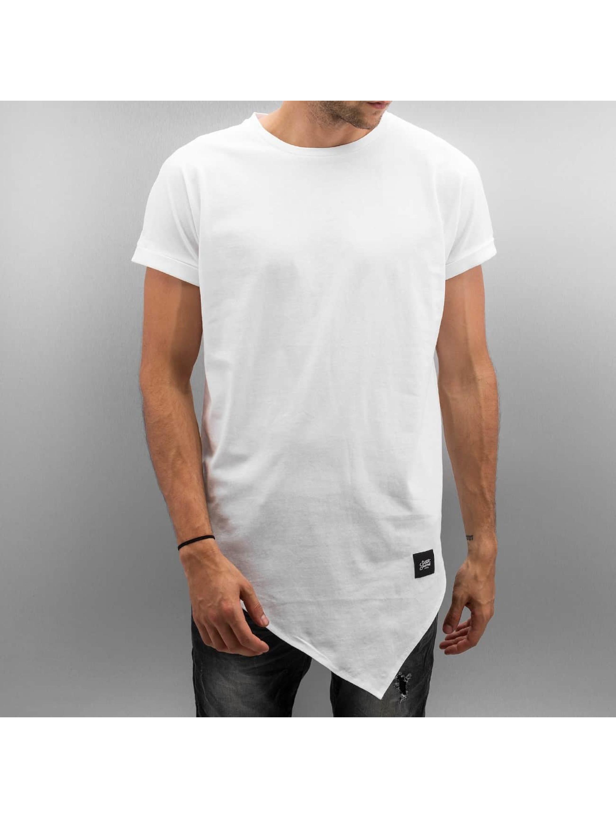 Tall Tees Asymetrical in weiß