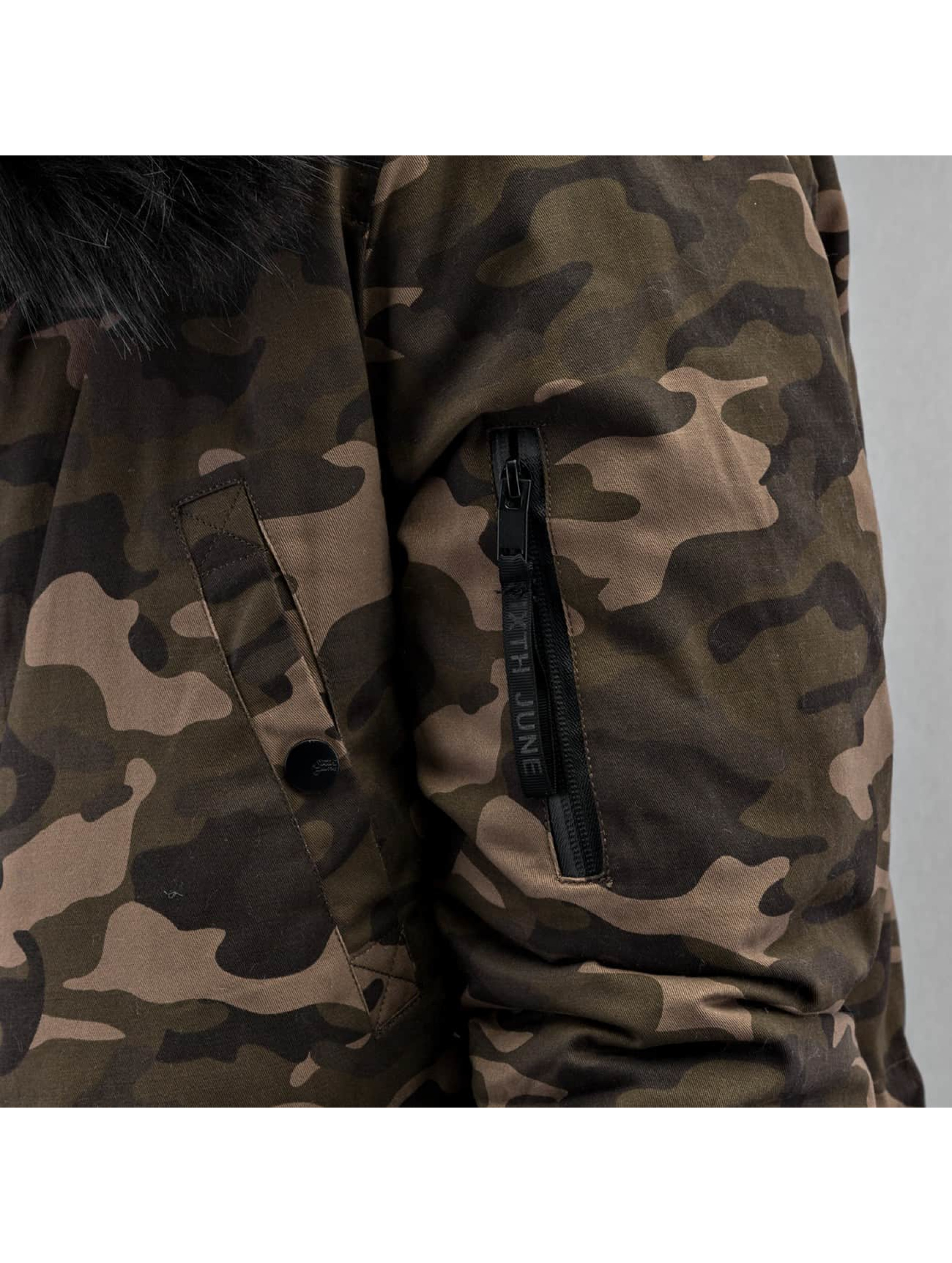 Sixth June Talvitakit Fur camouflage