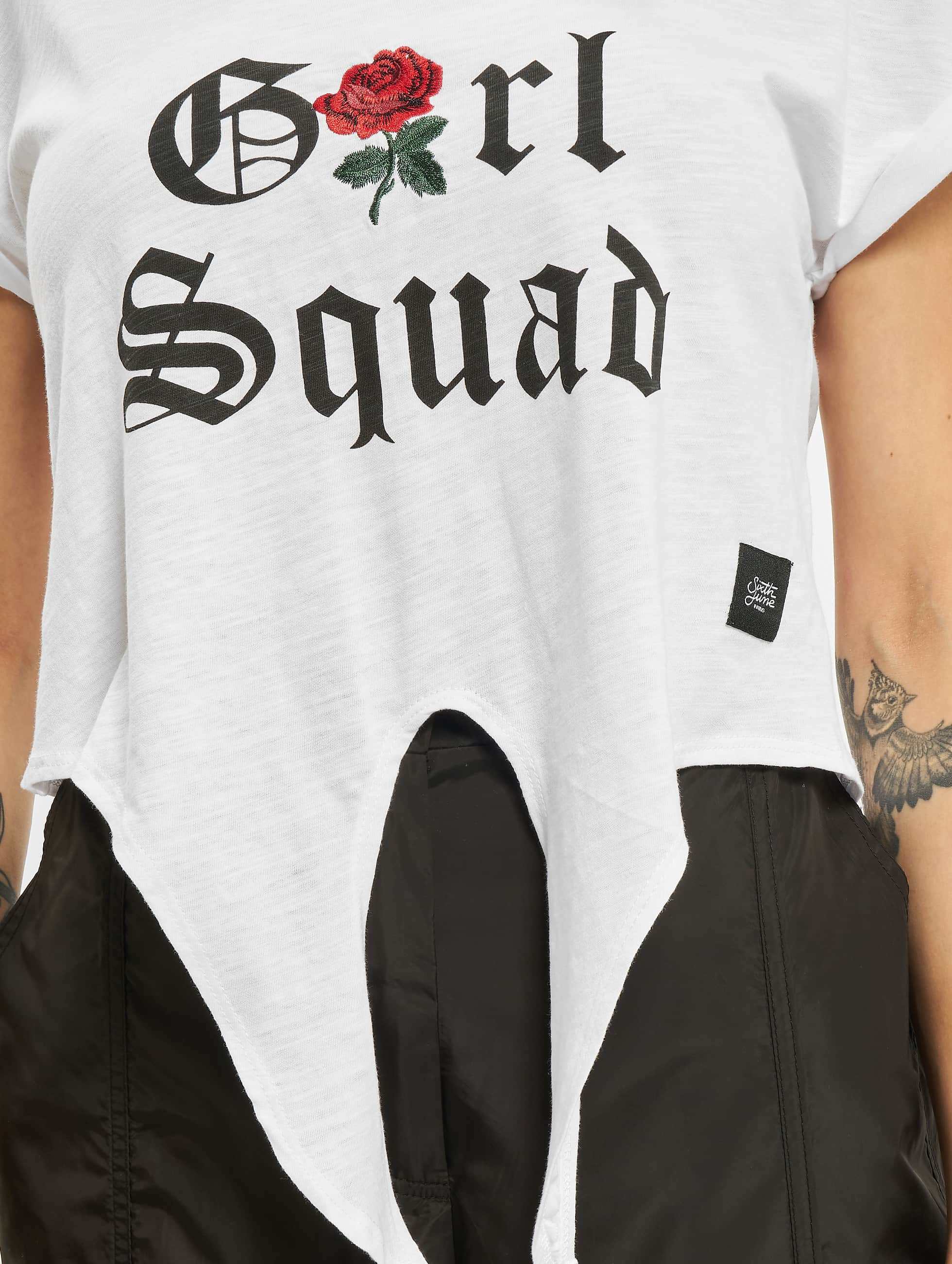 Sixth June Tričká Girl Squad biela