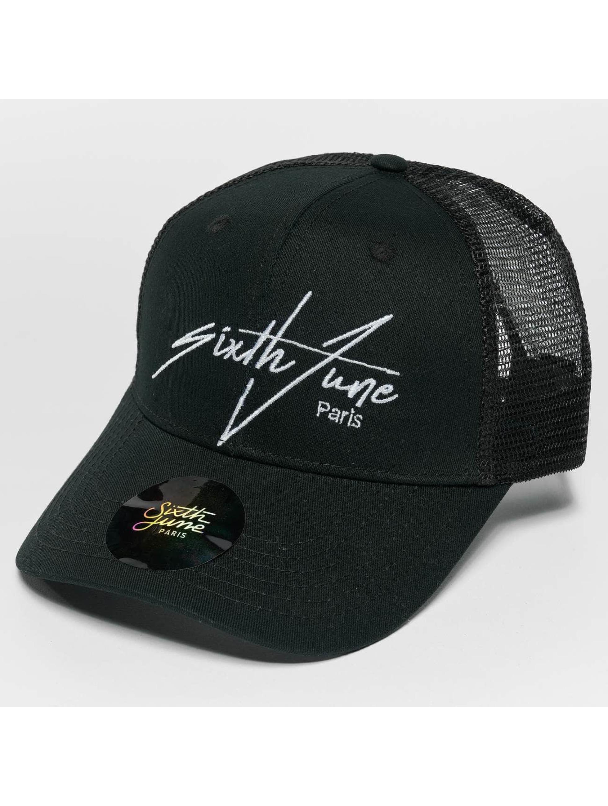 Sixth June trucker cap Trucker zwart