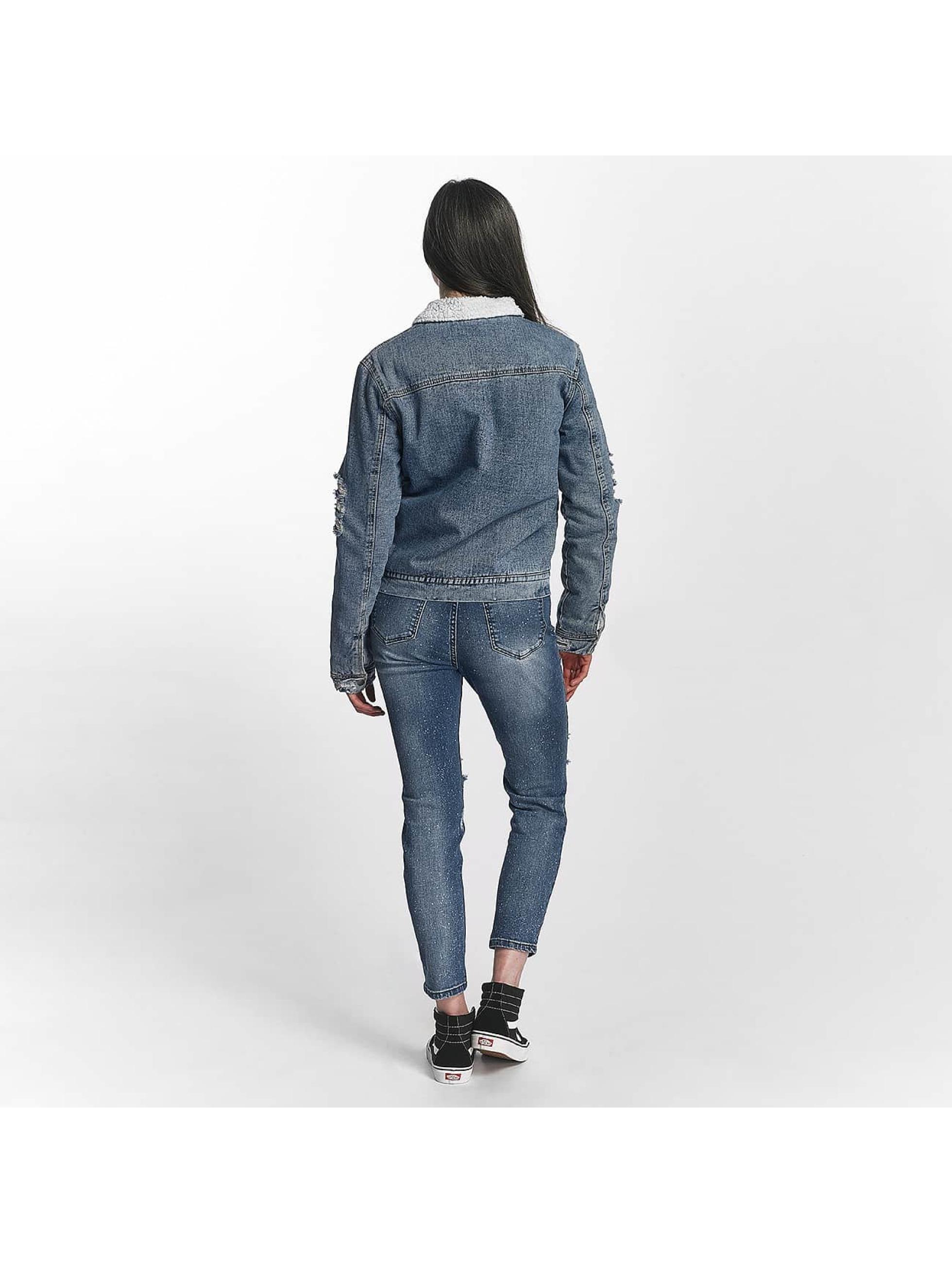 Sixth June Välikausitakit Jeans Sherpa sininen