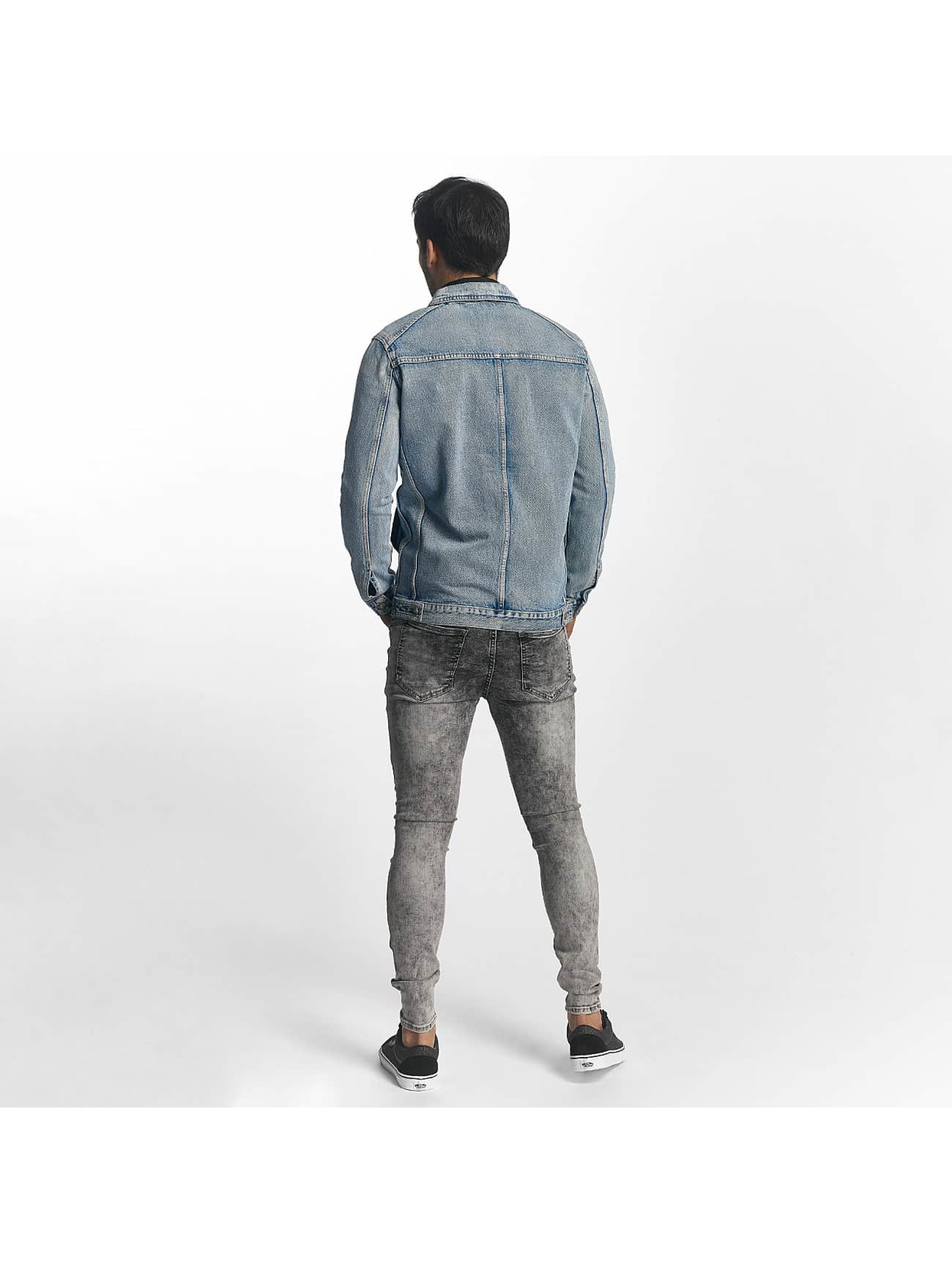 Sixth June Veste mi-saison légère Denim Oversized bleu