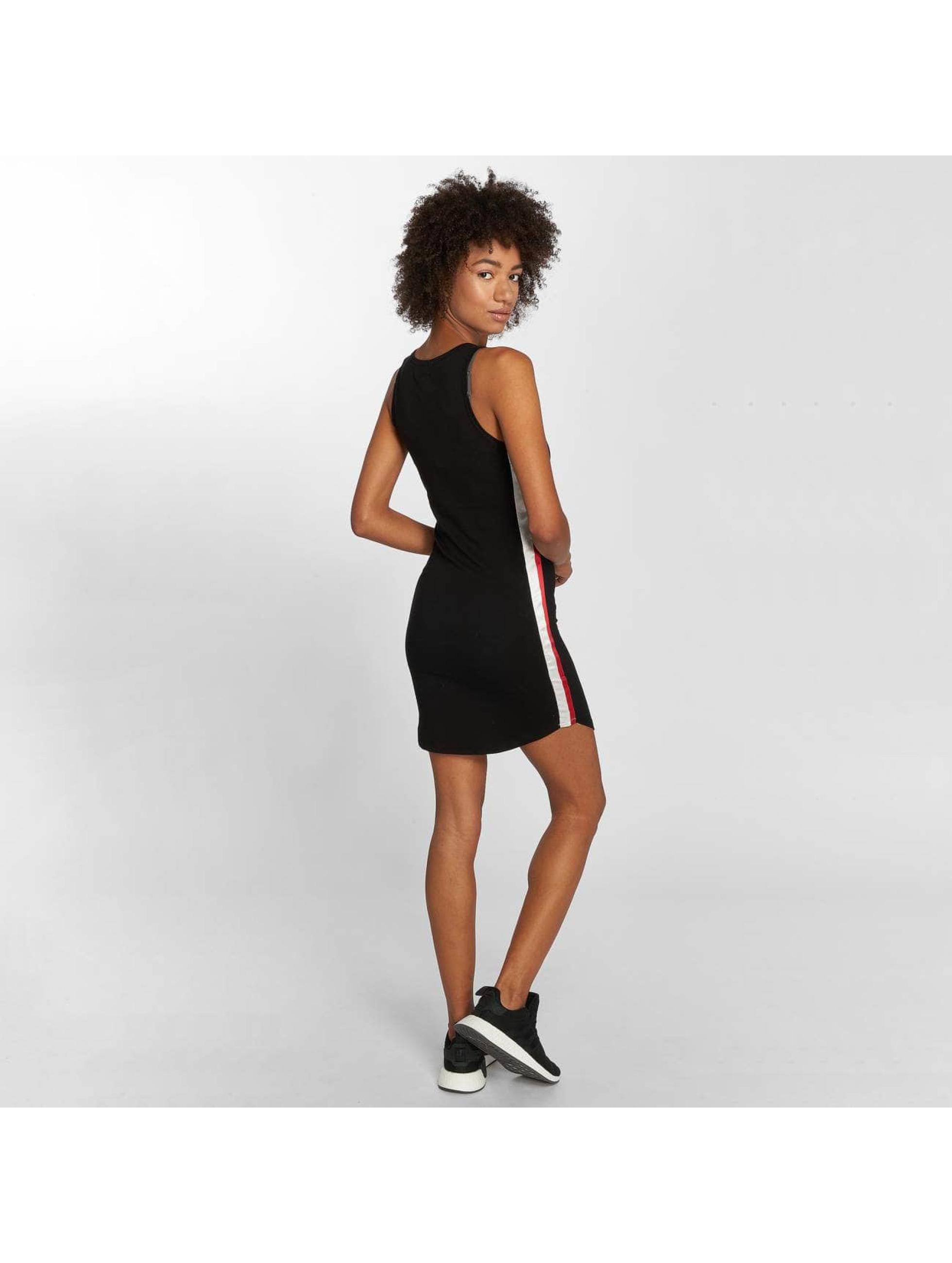Sixth June Vestido Stripes negro