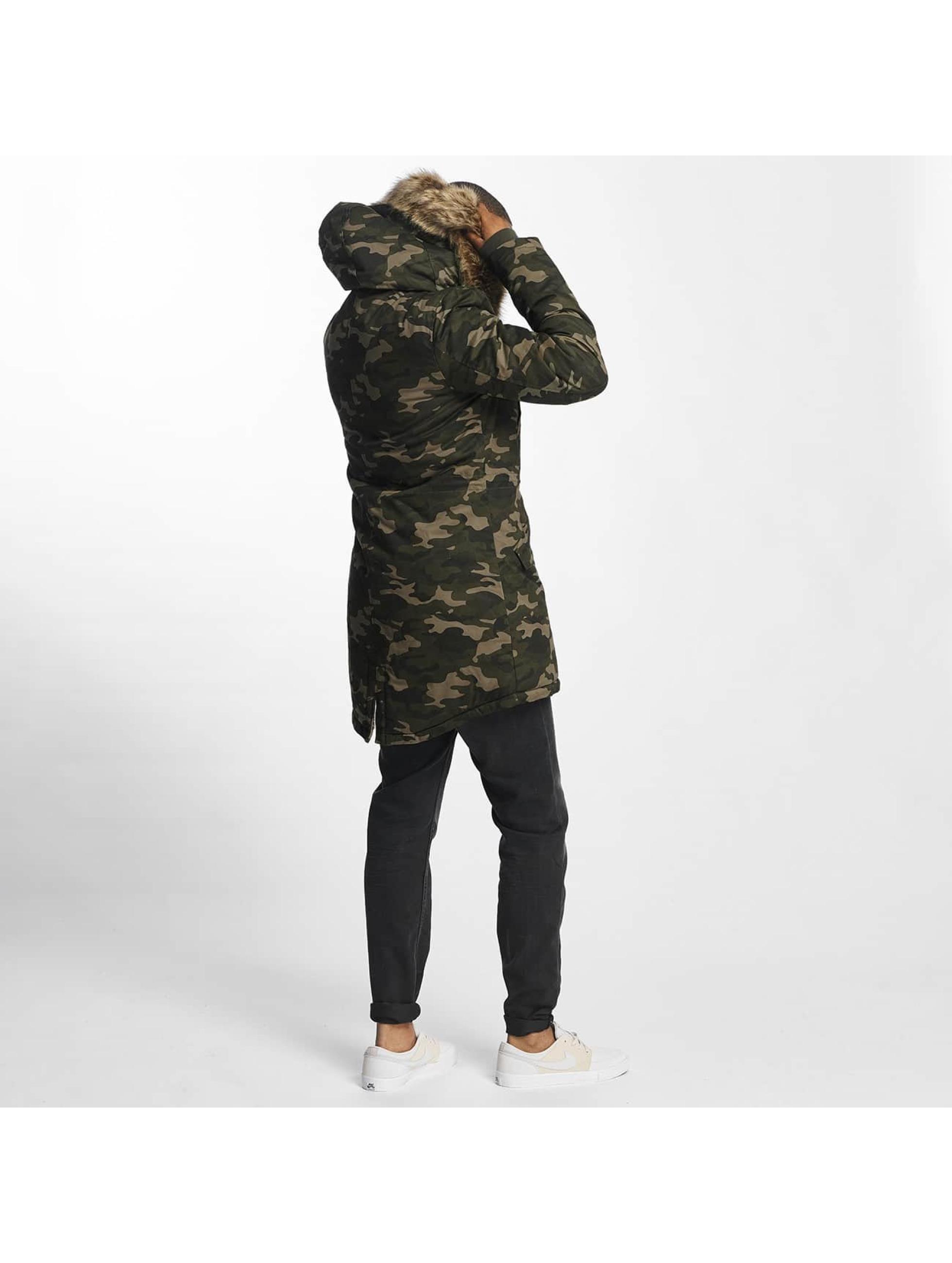 Sixth June winterjas Fur camouflage
