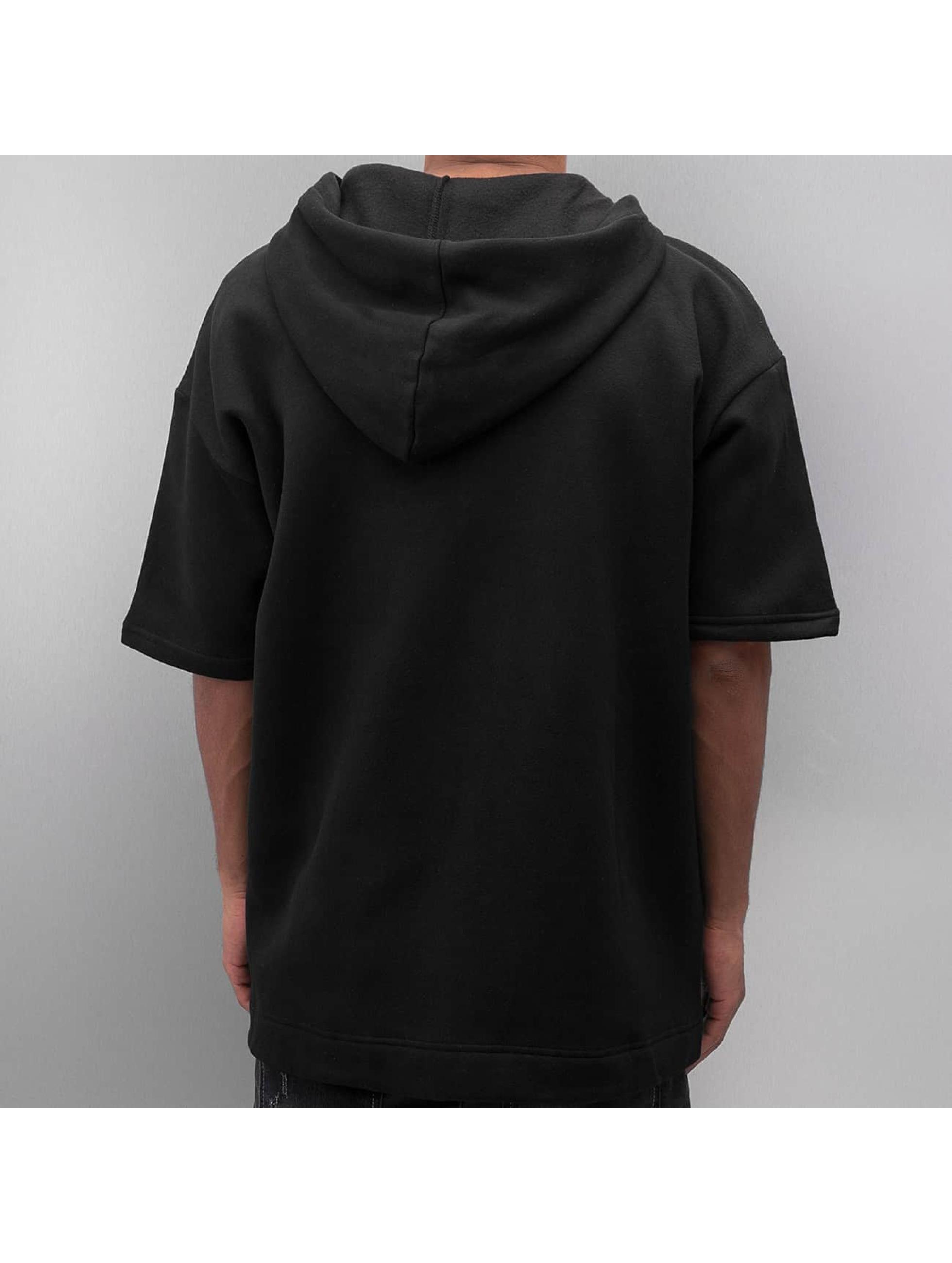 Sixth June Zip Hoodie Oversized 3/4 czarny
