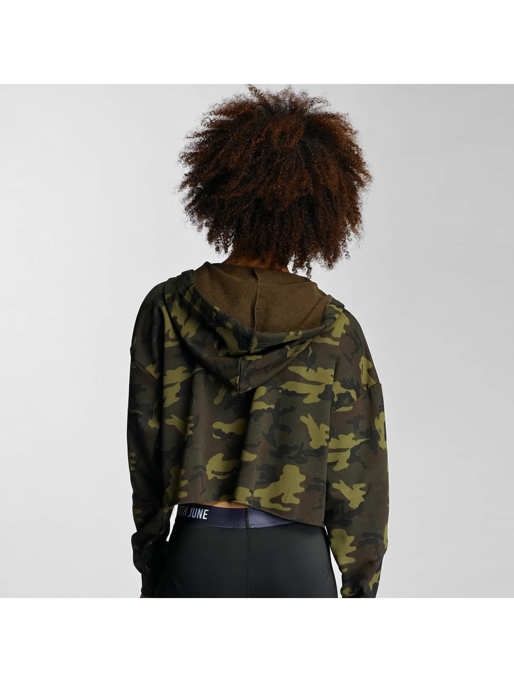 Sixth June Zip Hoodie Oversized kamouflage