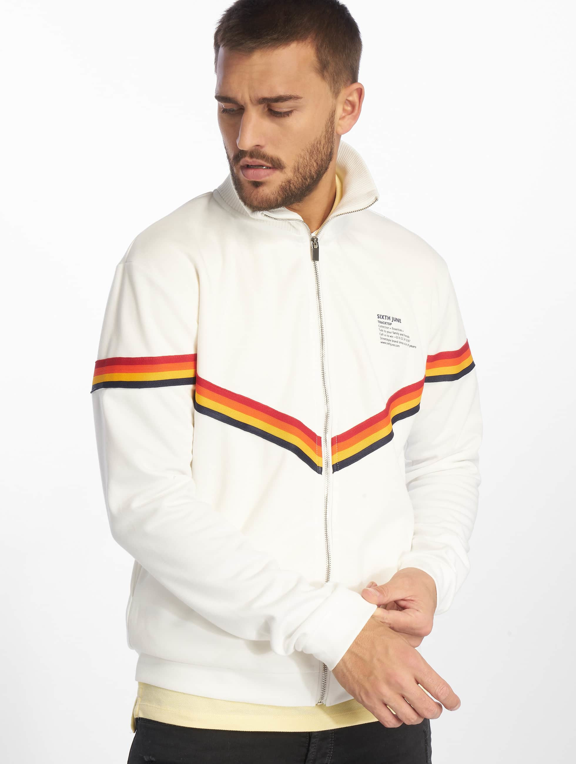 Sixth June XColor Bands Jacket White