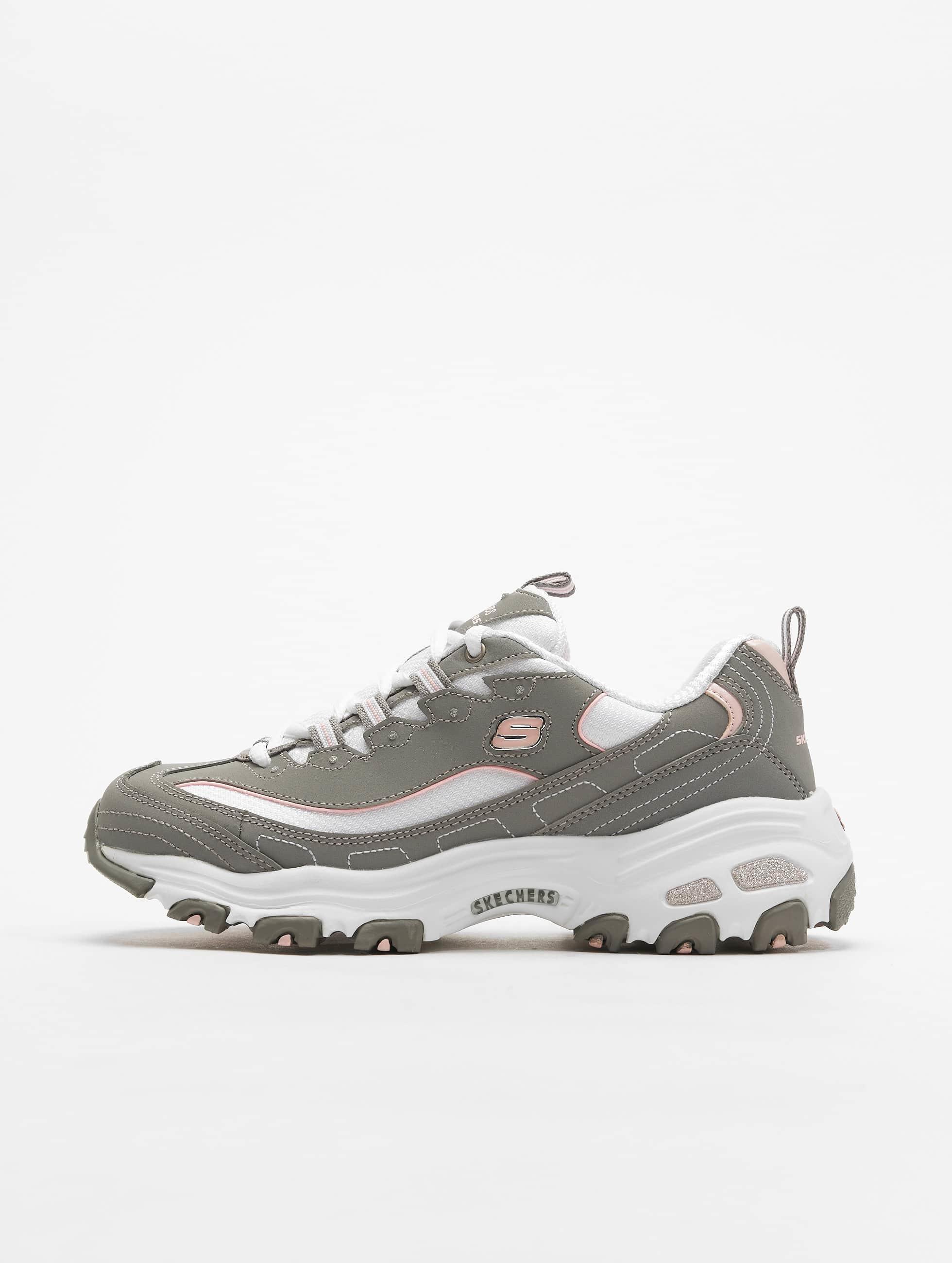 Skechers D'Lites Biggest Fan Sneakers Grey