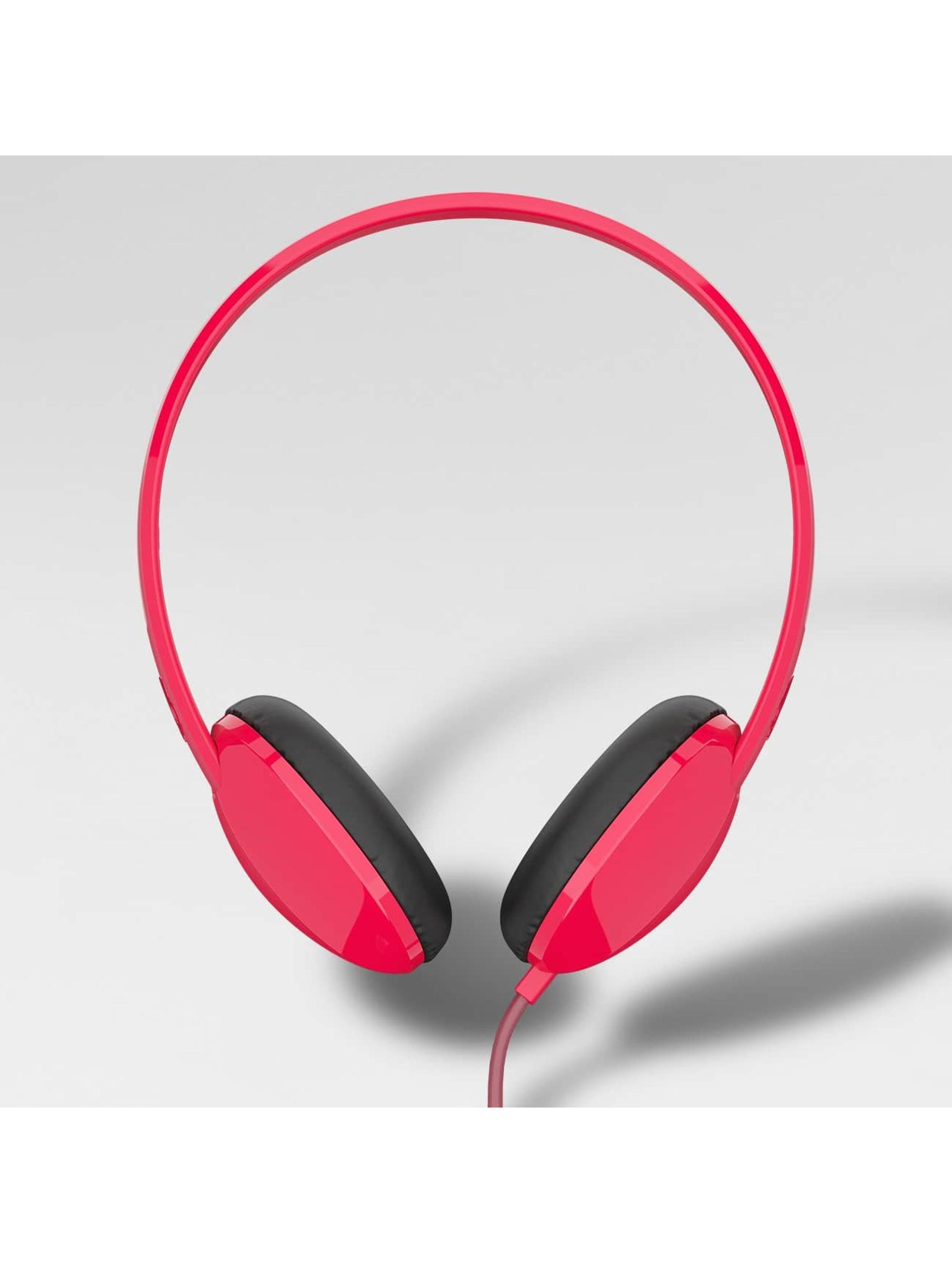 Skullcandy Cuffie musica Stim Mic 1 On Ear rosso