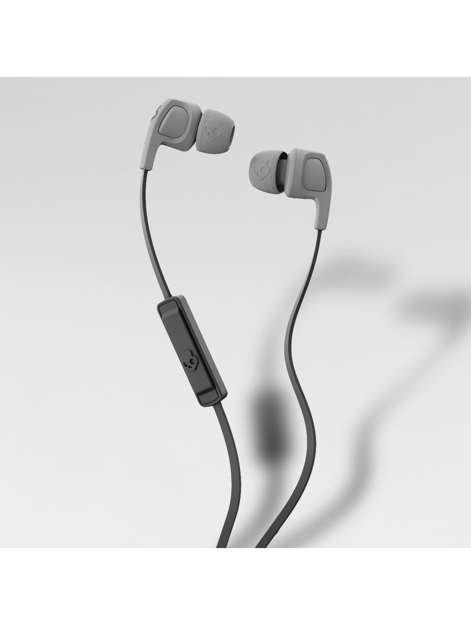 Skullcandy Høretelefoner Smokin Bud 2 Mic 1 In Earphones grå