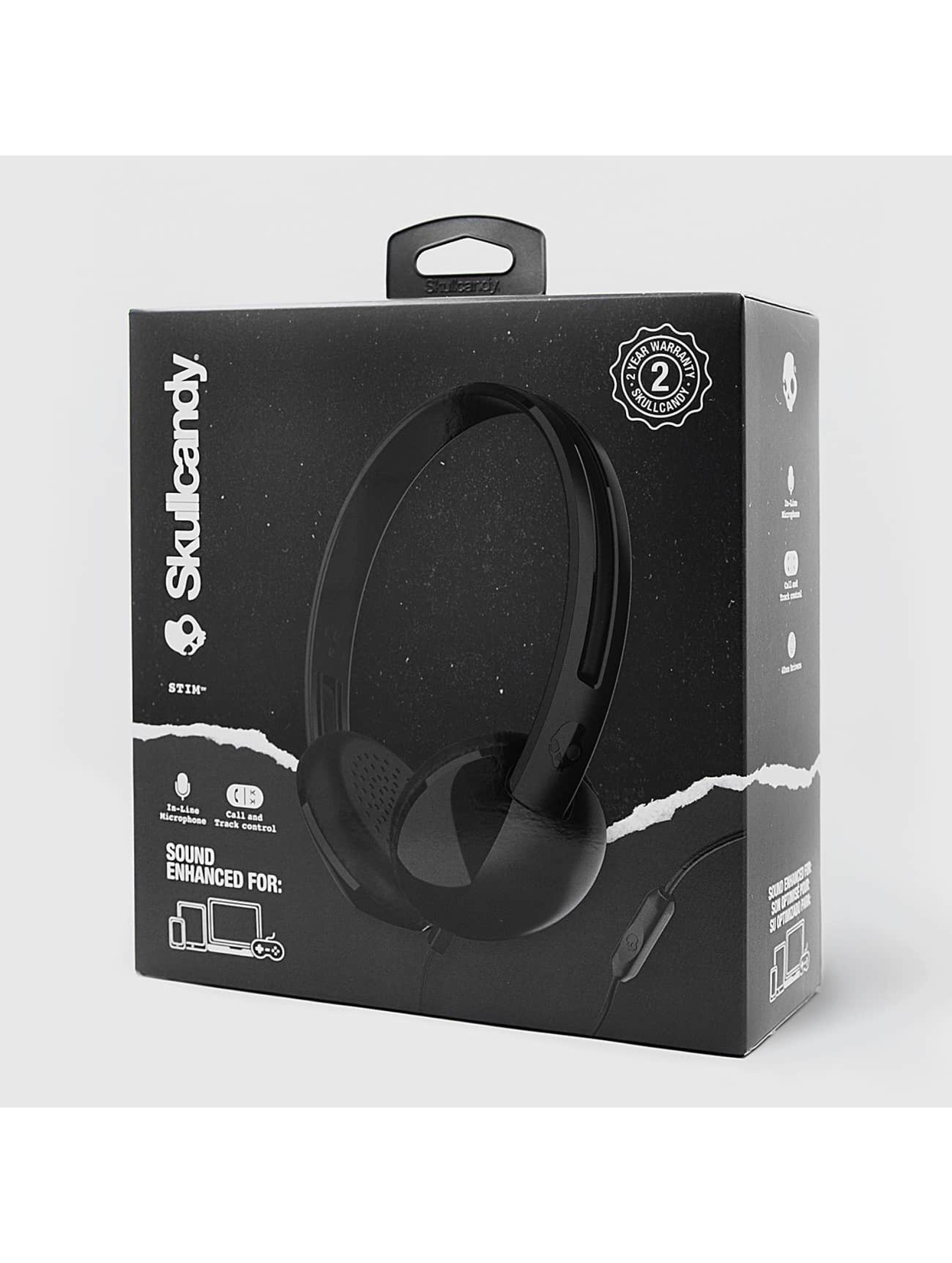 Skullcandy Headphone Stim Mic 1 On Ear black