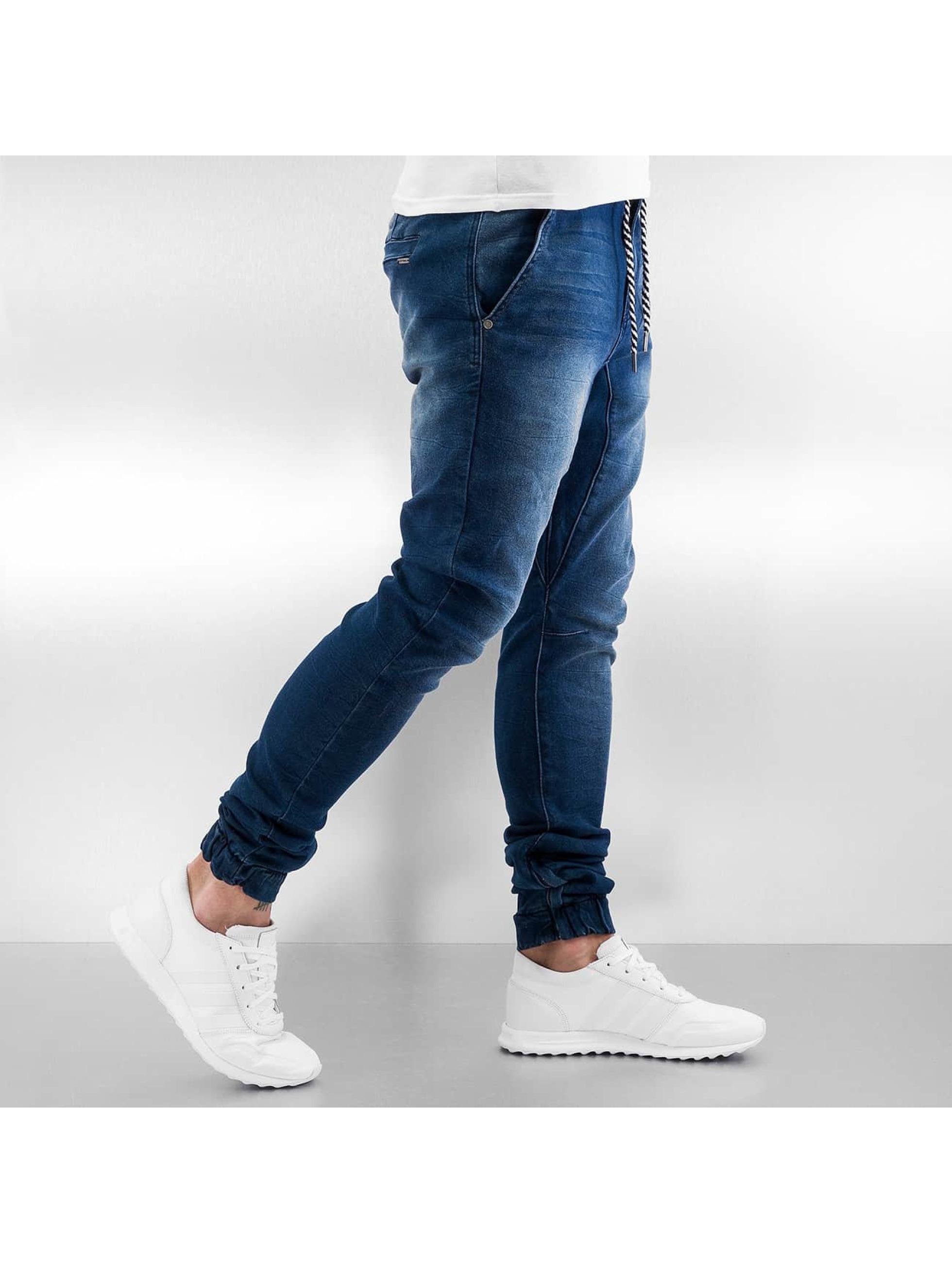 Sky Rebel Спортивные брюки Jeans Style синий