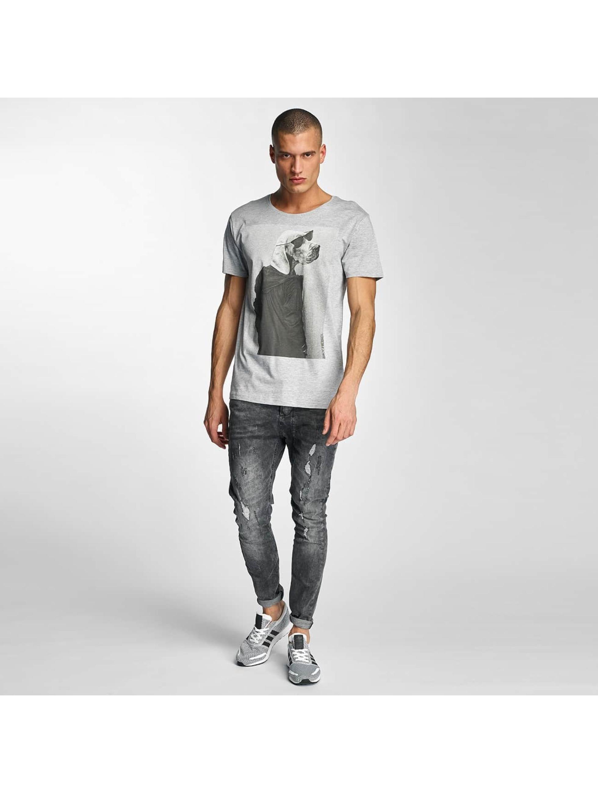 Sky Rebel Camiseta Oskar gris