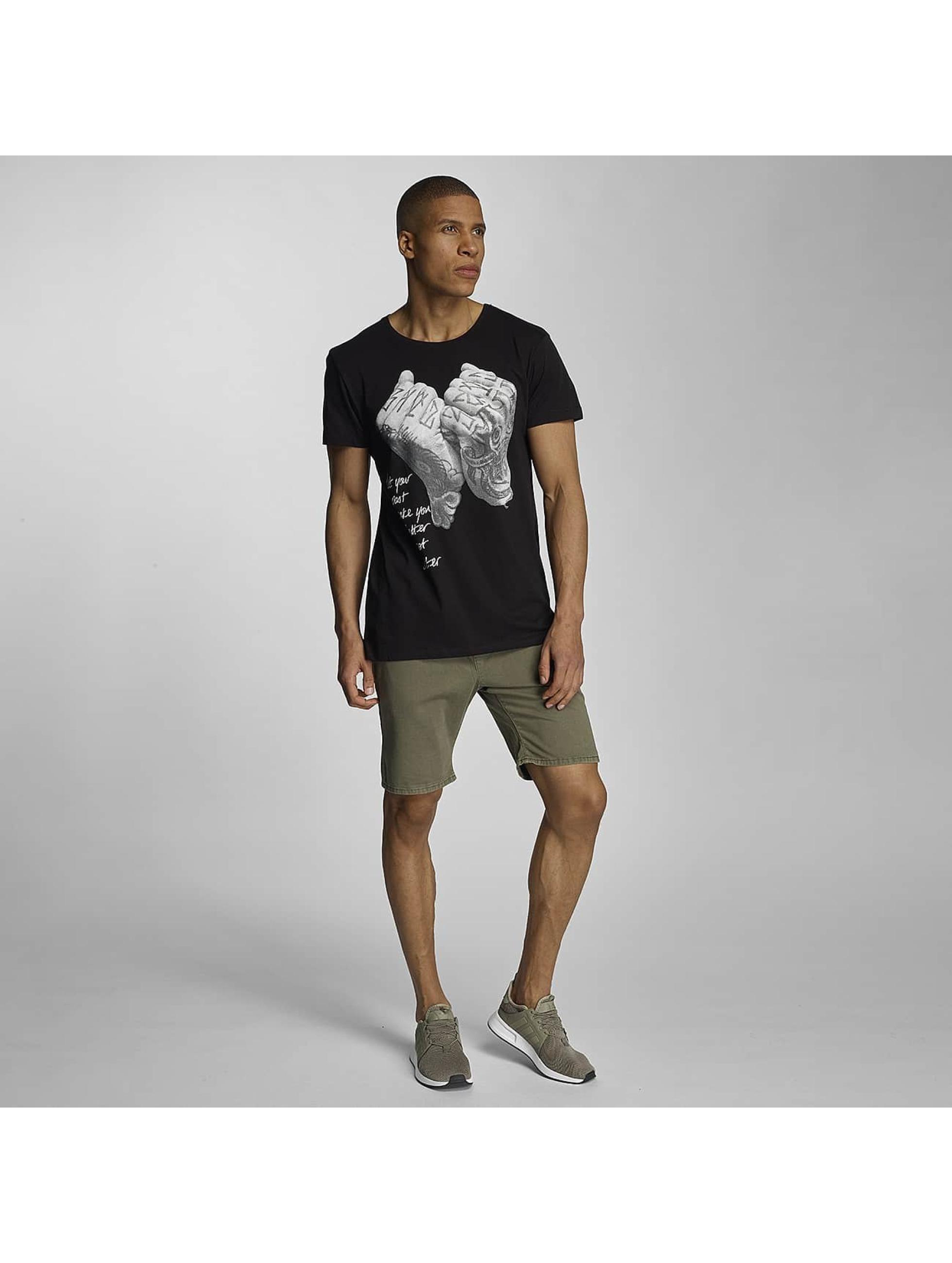 Sky Rebel Camiseta Davy negro