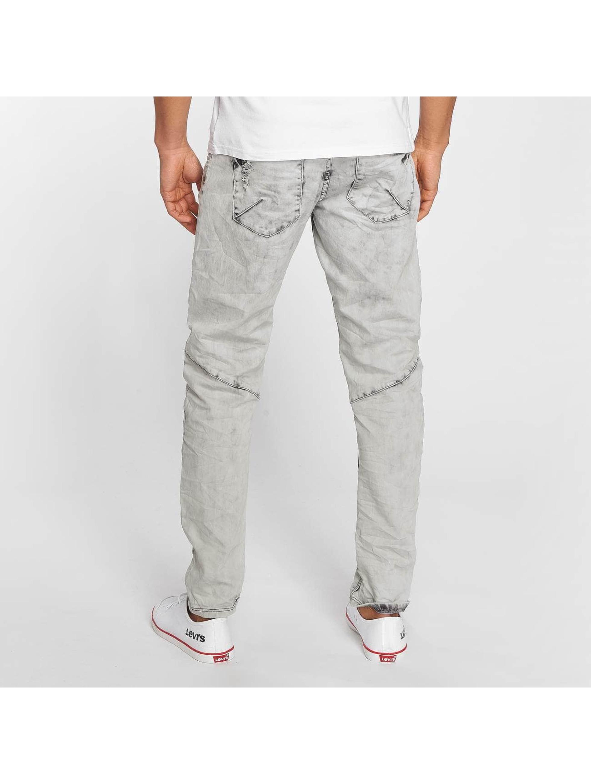 Sky Rebel Straight Fit Jeans Elay grau