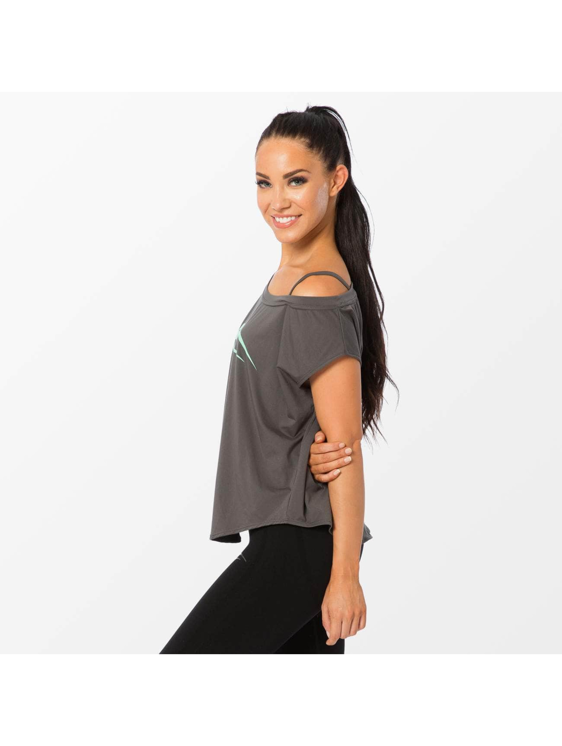 Smilodox T-Shirt Loose gris