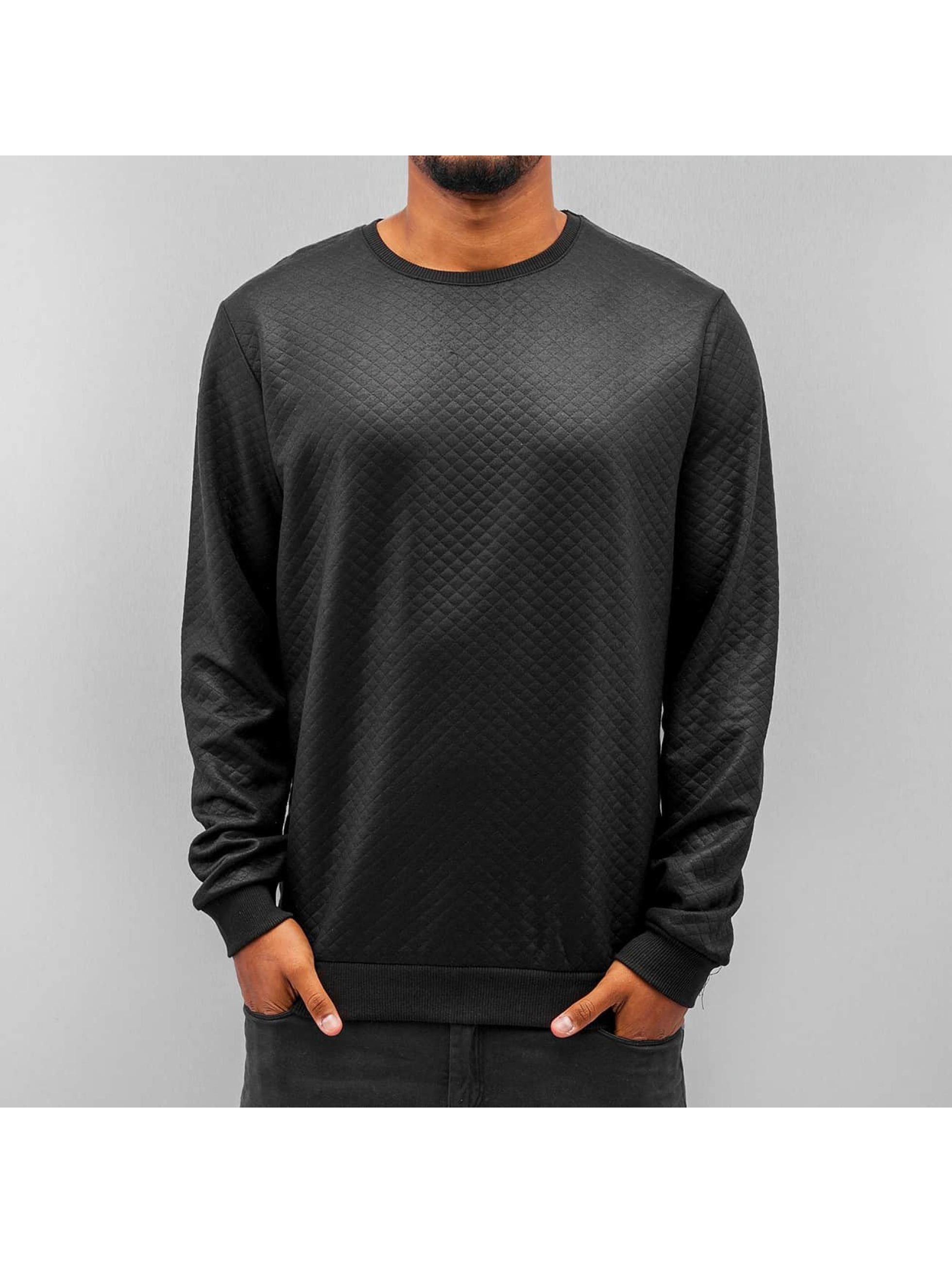 Solid Пуловер Tao черный
