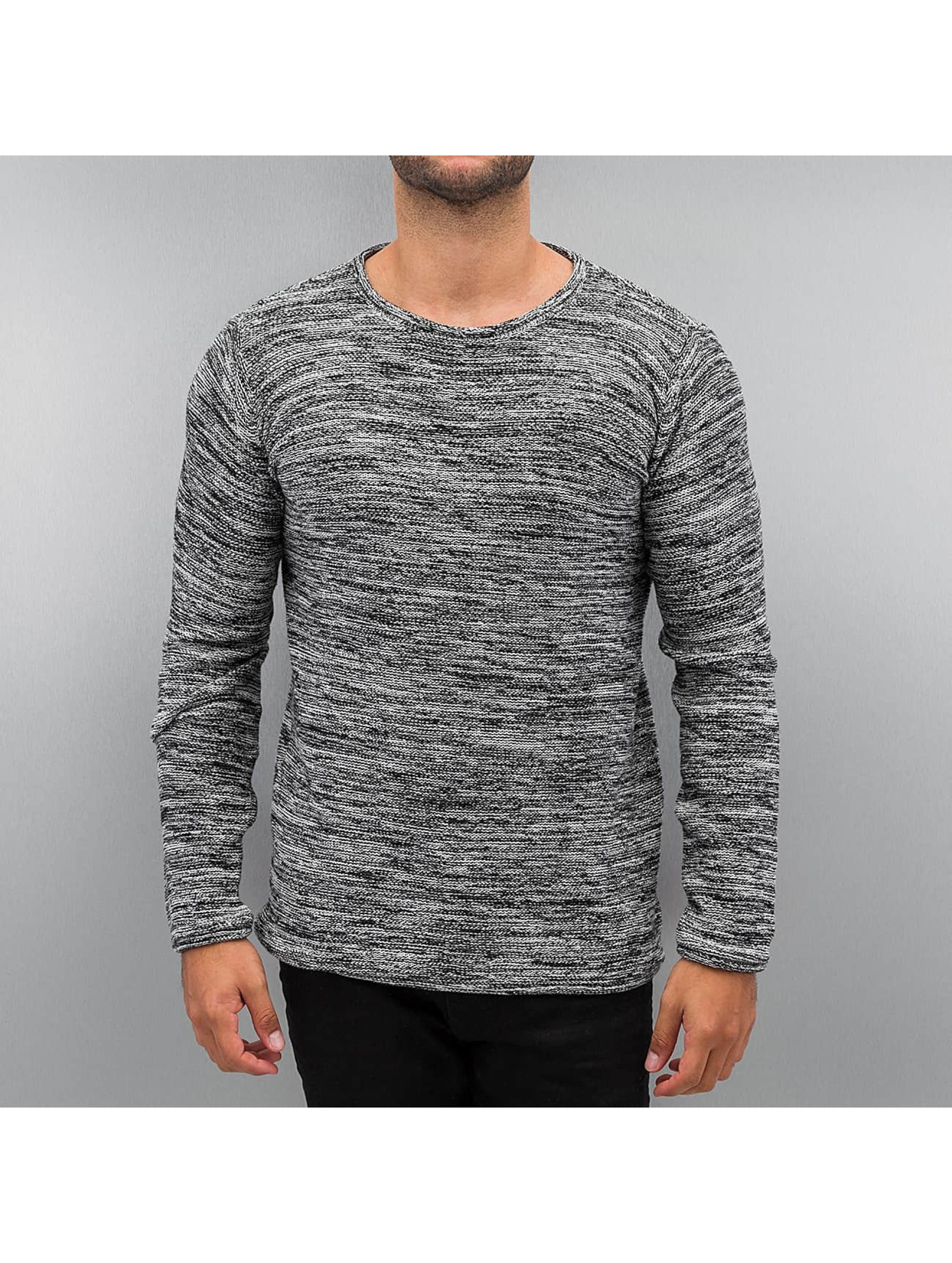 Solid Пуловер Knit Duff черный