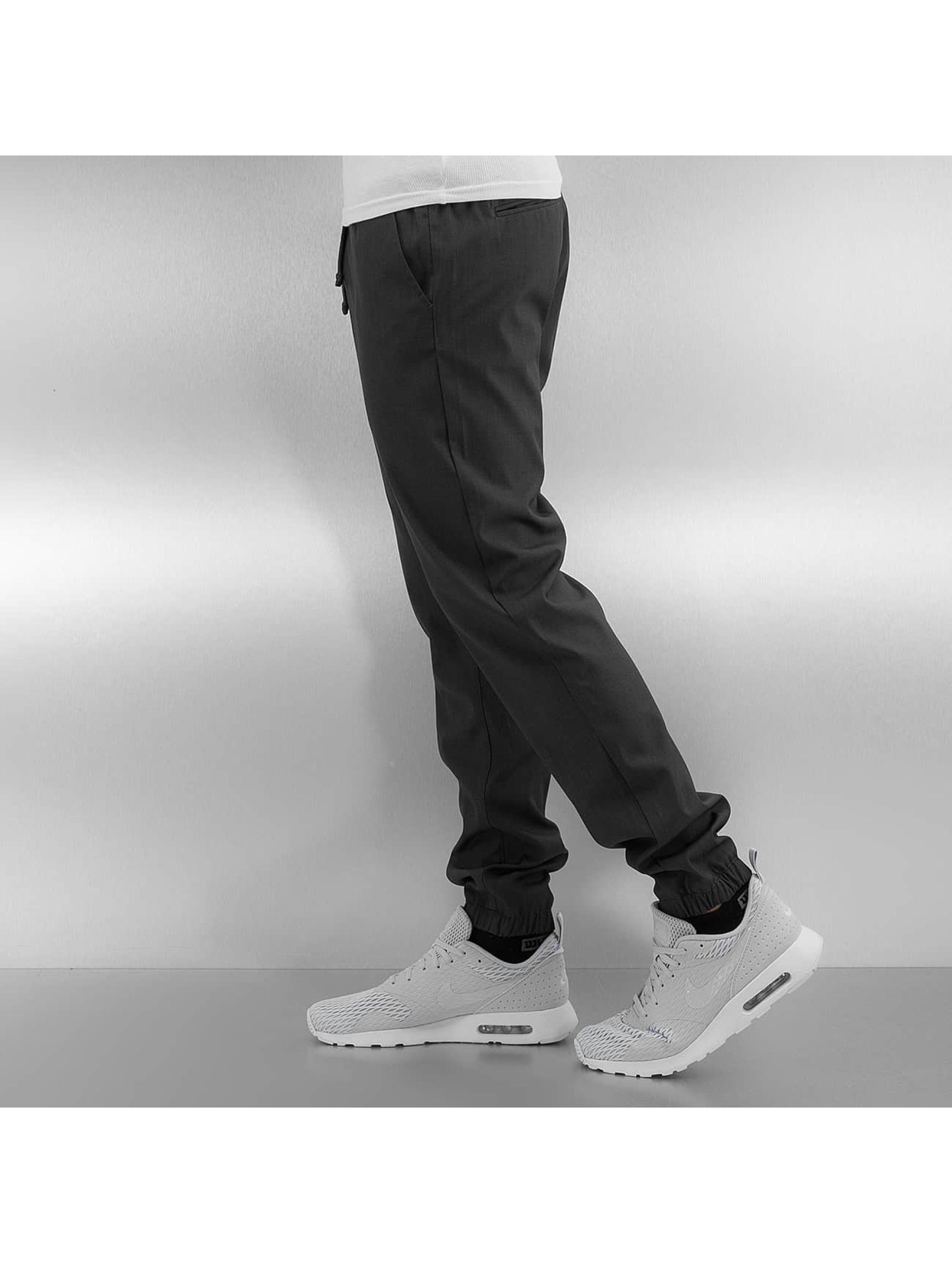 Solid Pantalon chino Eric gris