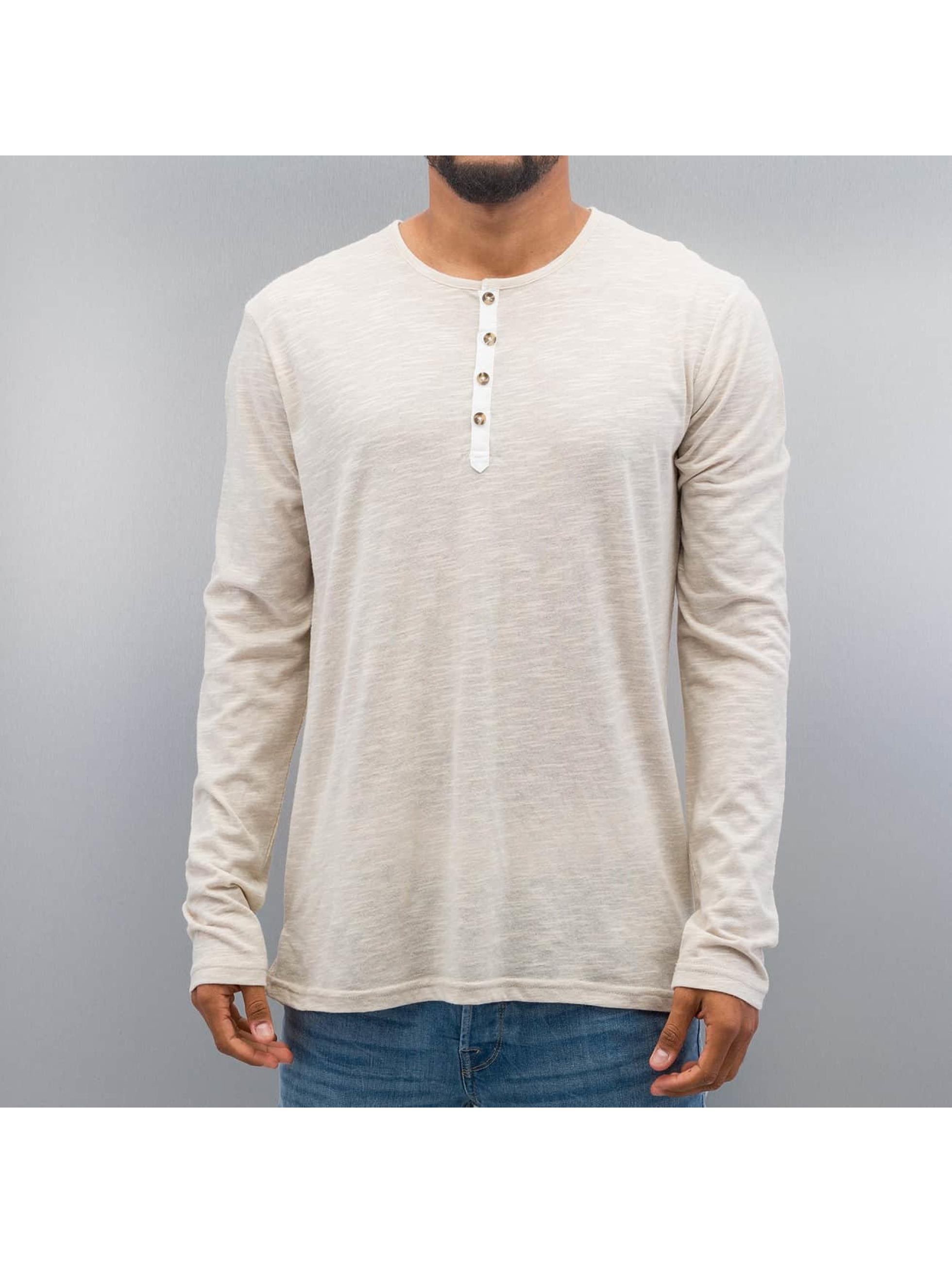 Solid Pitkähihaiset paidat Caleb harmaa