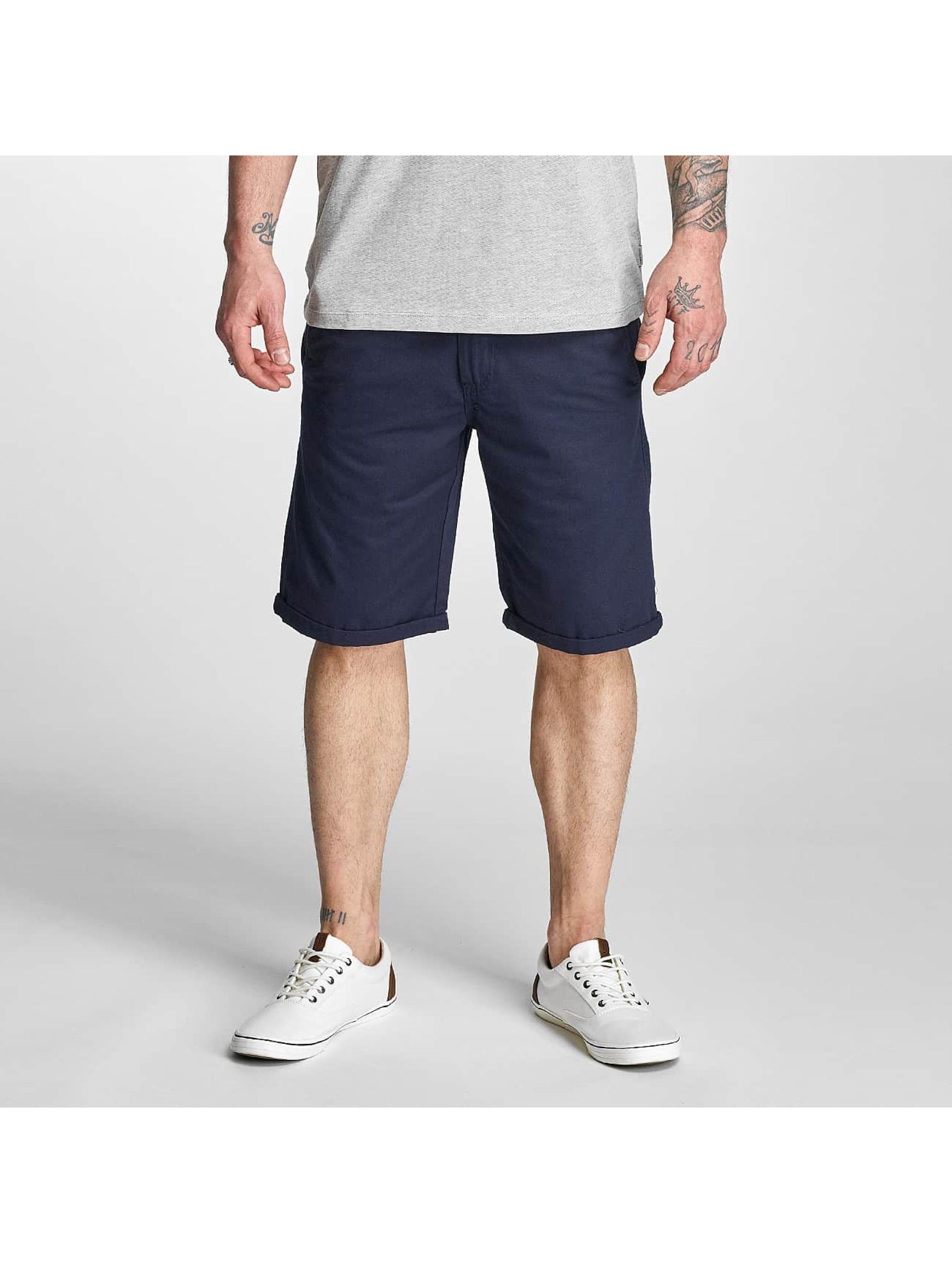 Solid Pantalon / Shorts Gabi en bleu