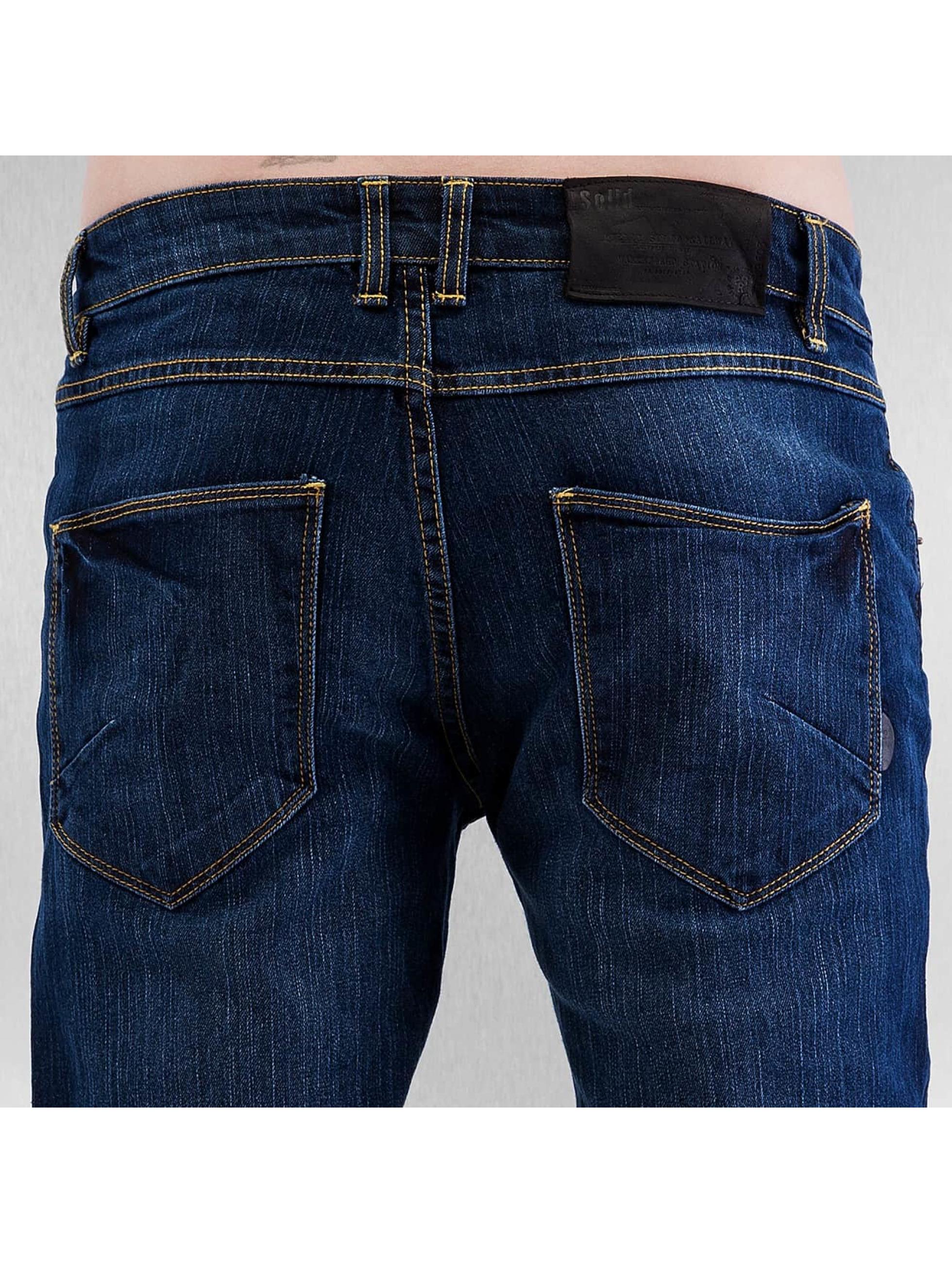 Solid Skinny jeans Joy Stretch blå