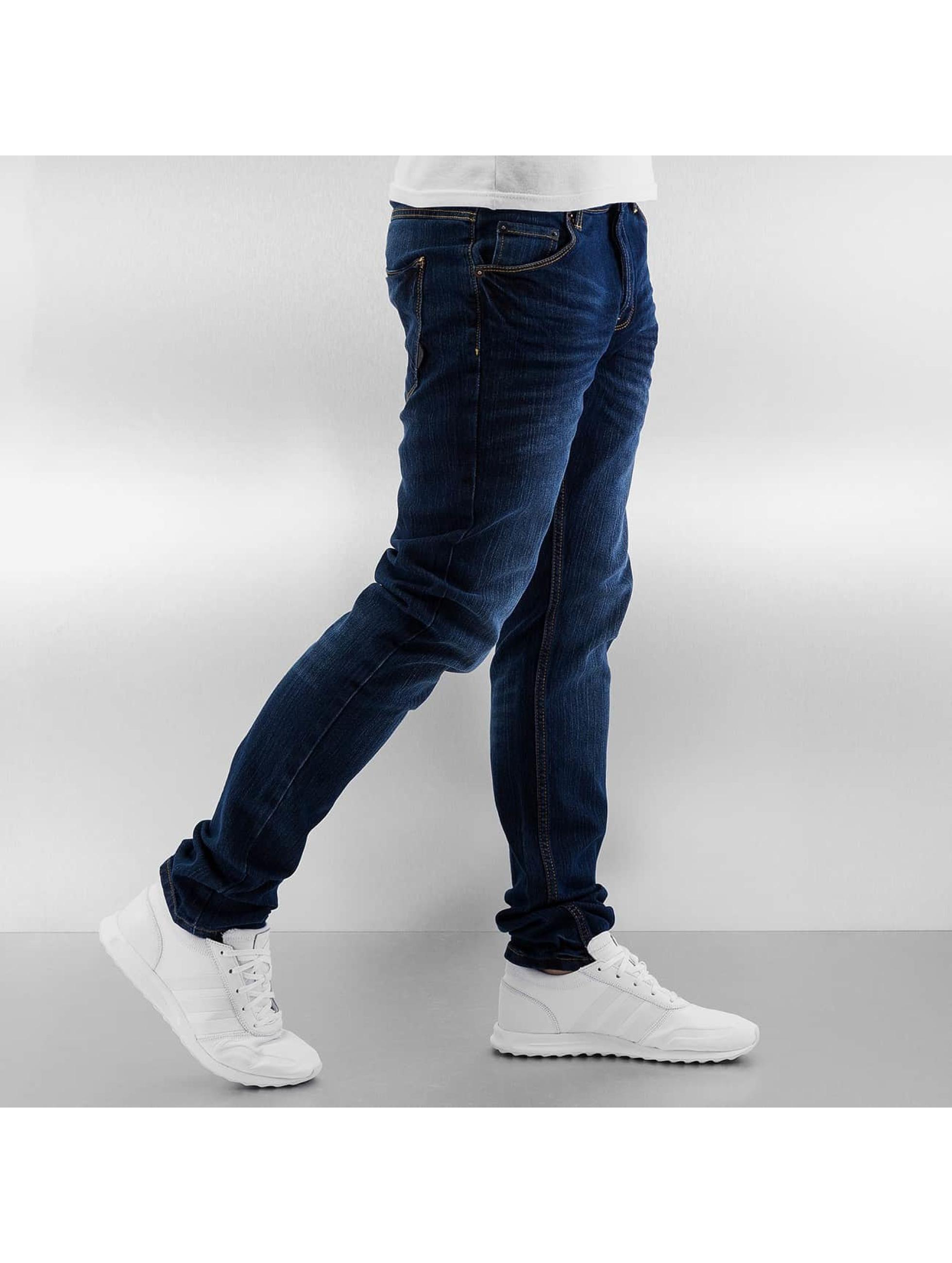 Solid Skinny Jeans Joy Stretch blau