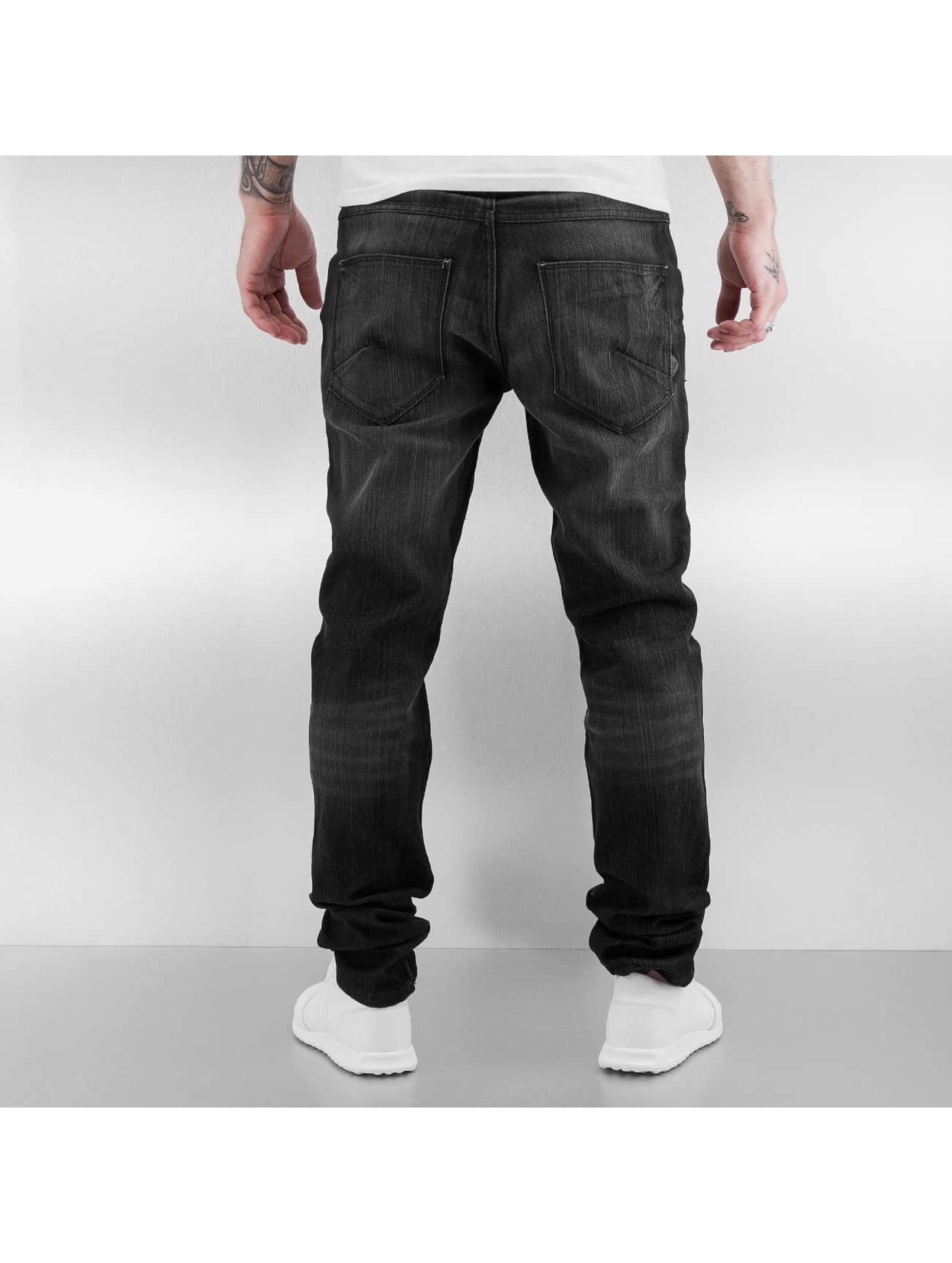 Solid Skinny jeans Joy Stretch zwart