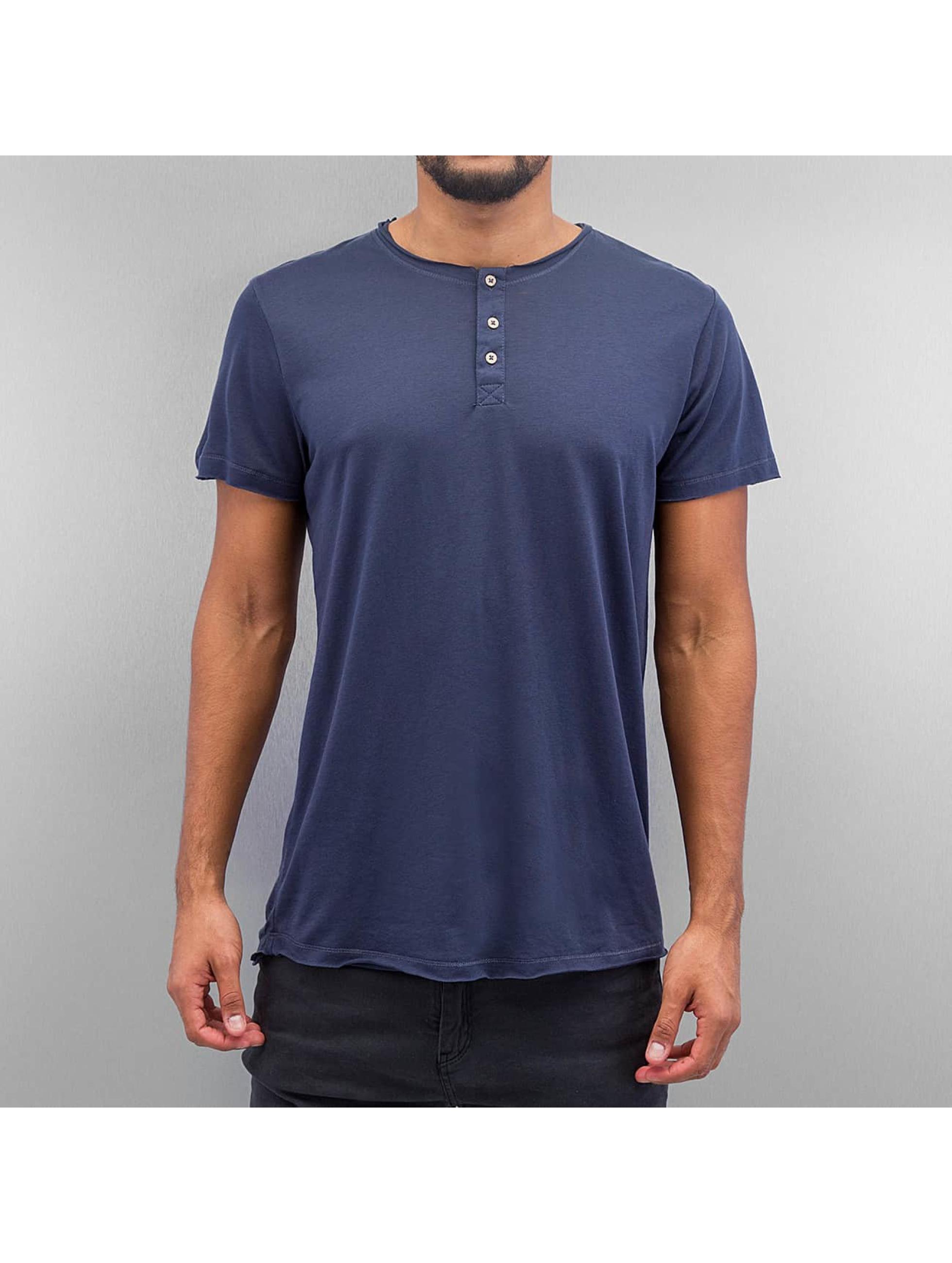 Solid t-shirt Barron blauw
