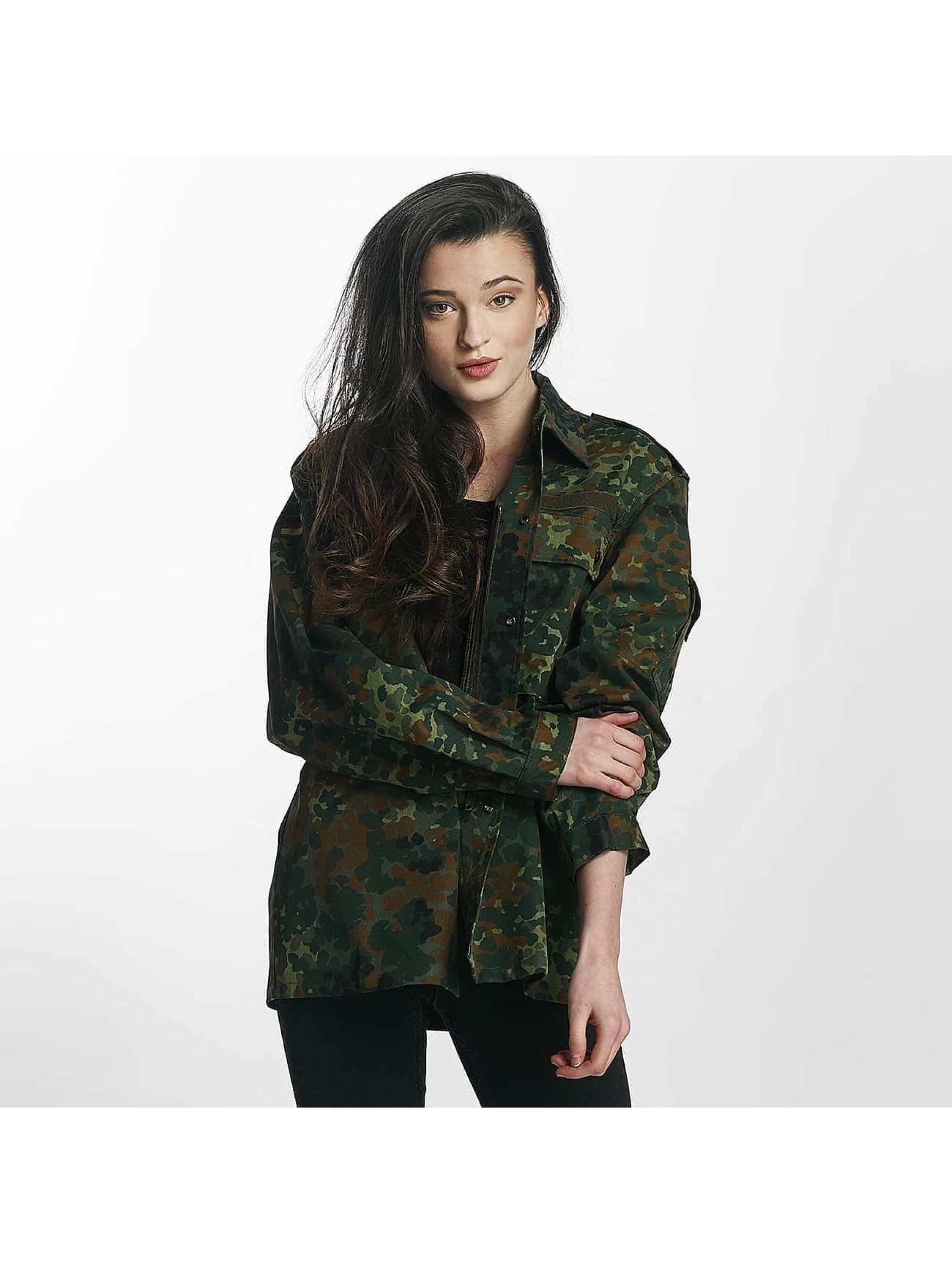 Soniush Veste mi-saison légère Je Taime camouflage