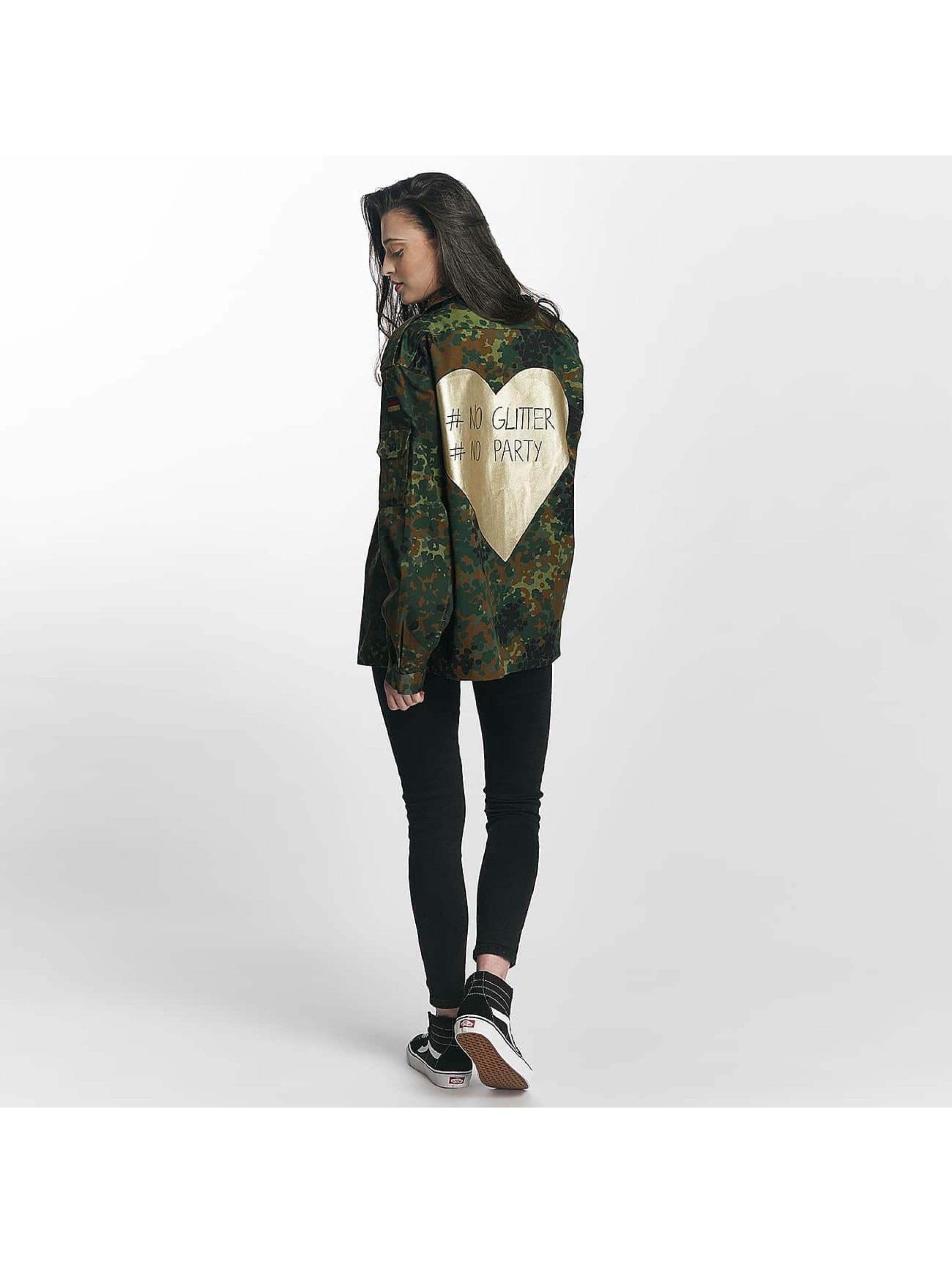 Soniush Veste mi-saison légère No Glitter camouflage