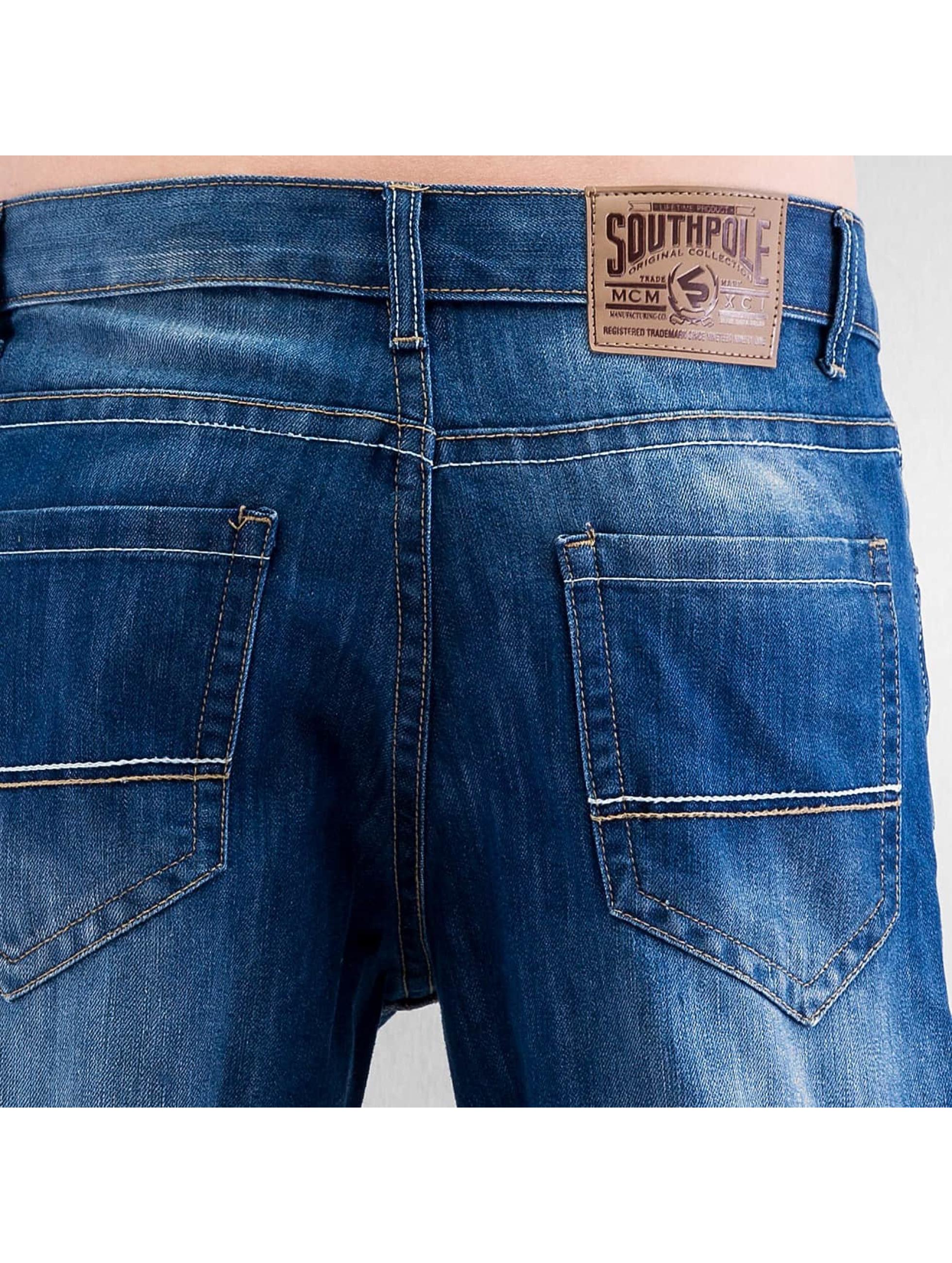 Southpole Jean coupe droite Deacon bleu