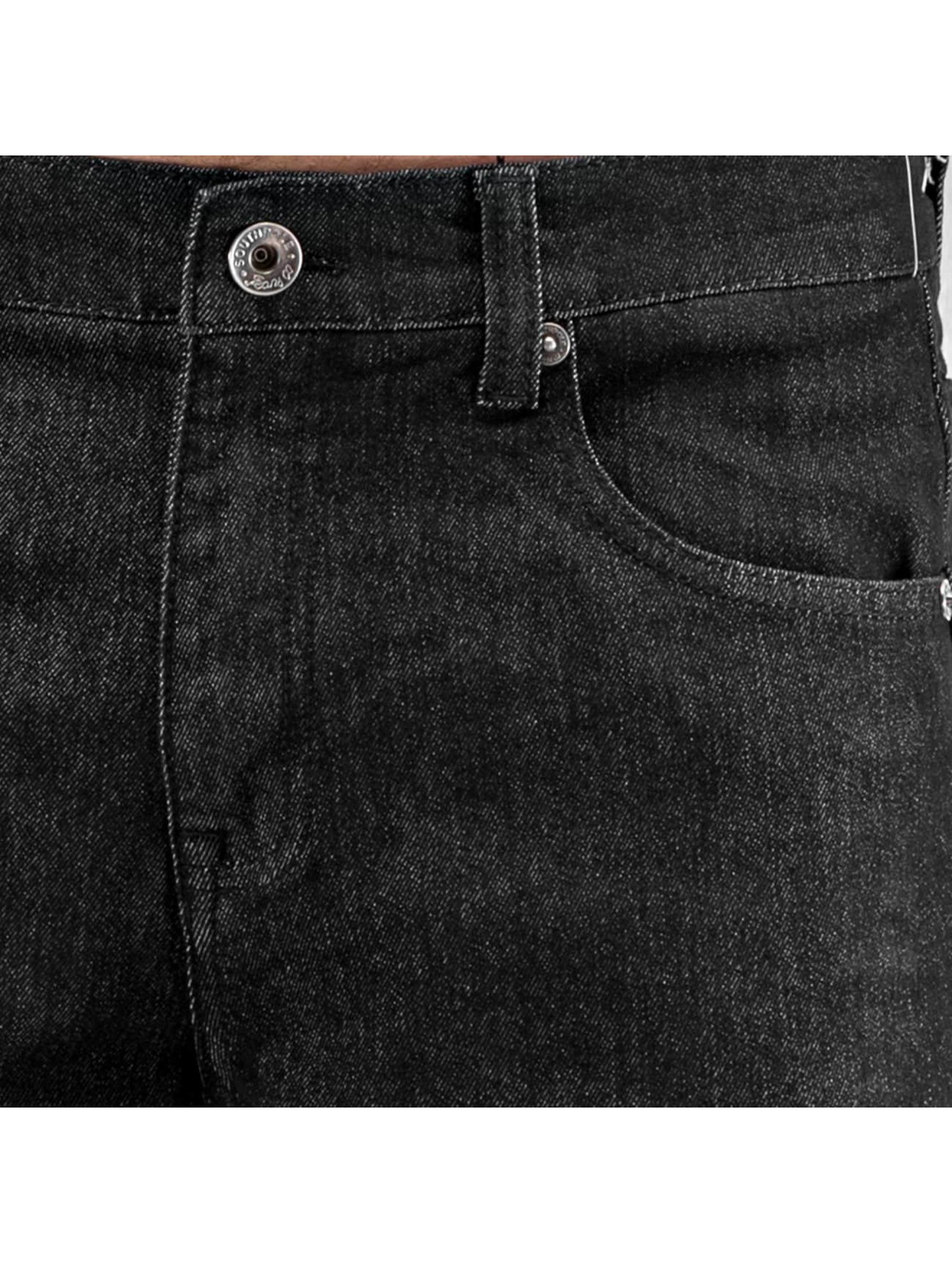 Southpole Jean coupe droite Vernon noir