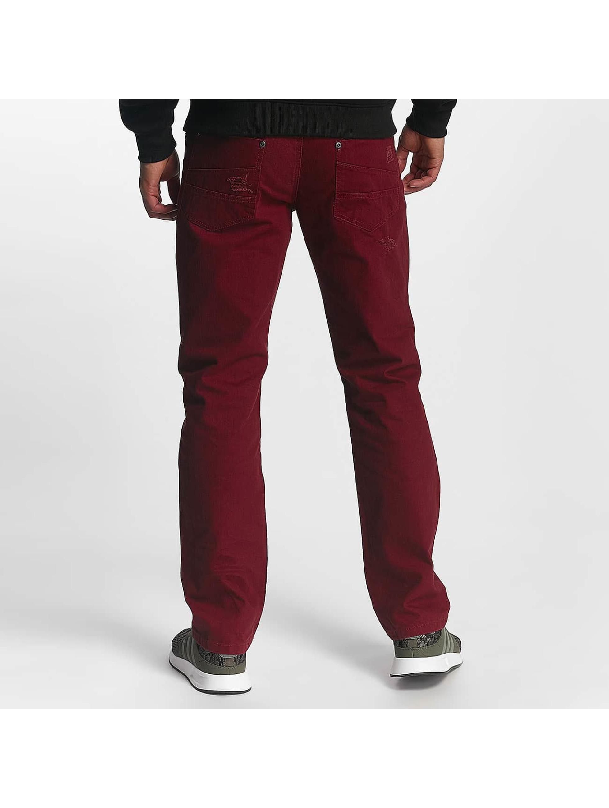 Southpole Jean coupe droite Tuscon Slim rouge