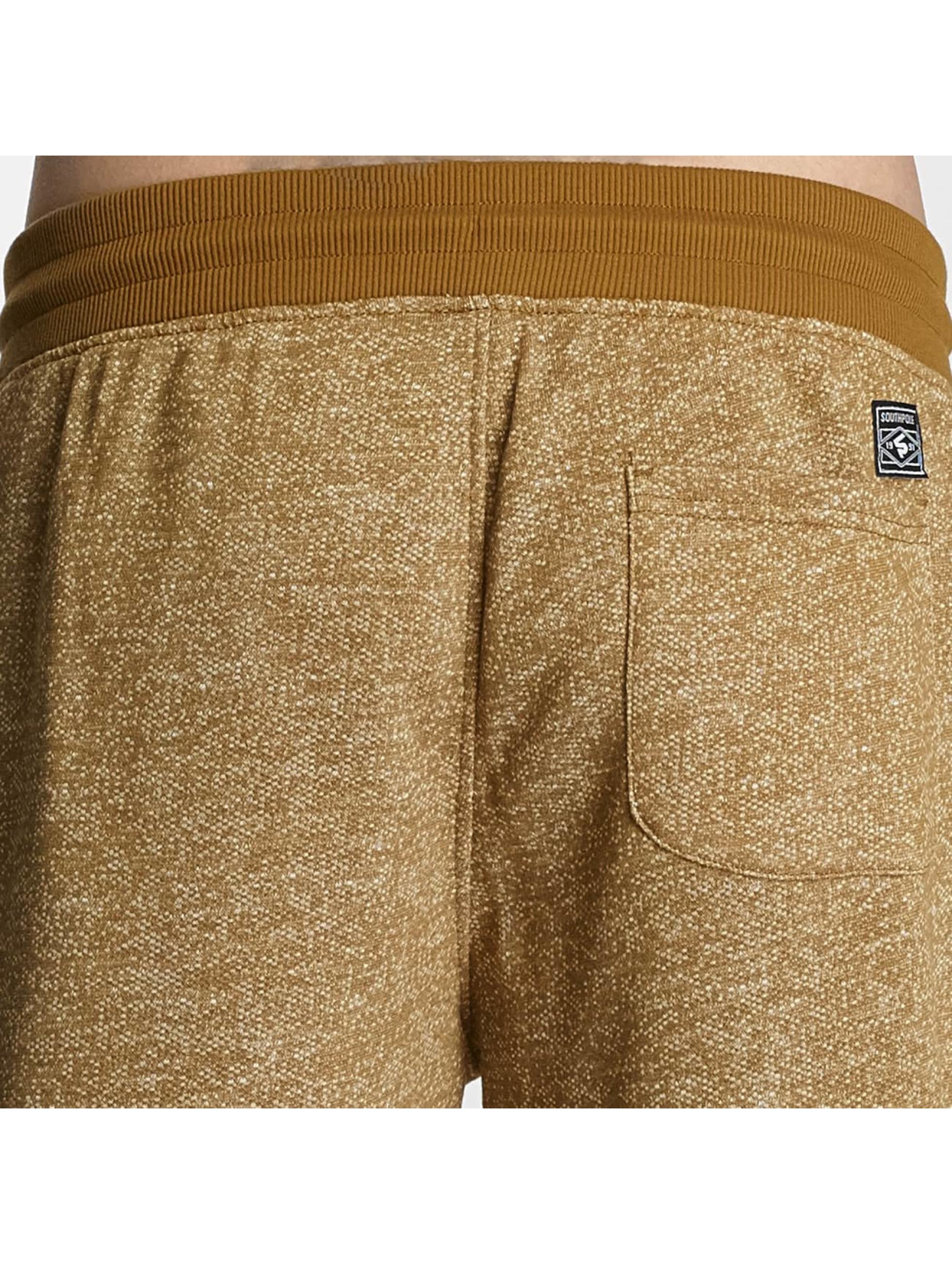 Southpole Jogging kalhoty Sweat béžový