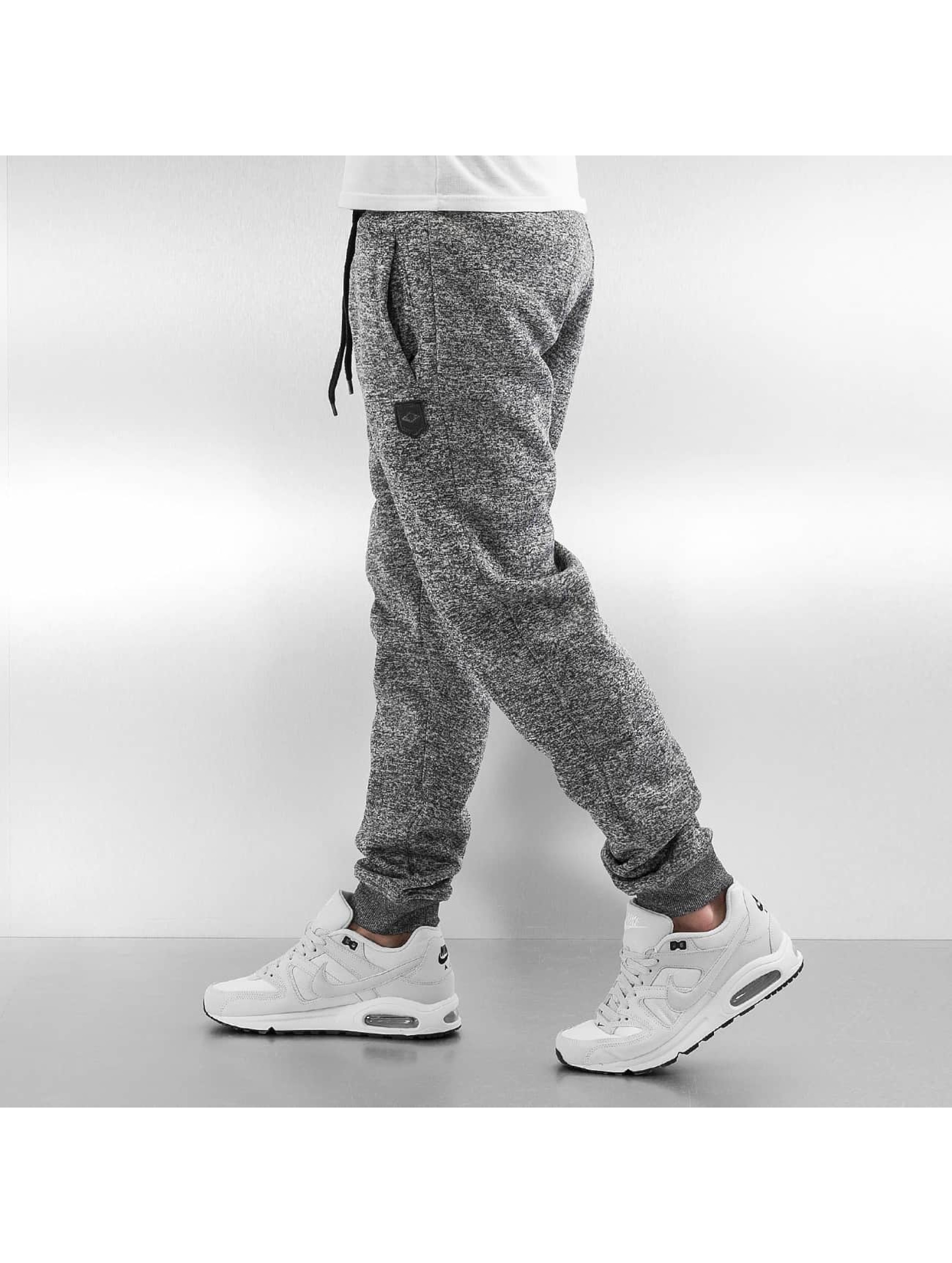 Southpole joggingbroek Marled grijs