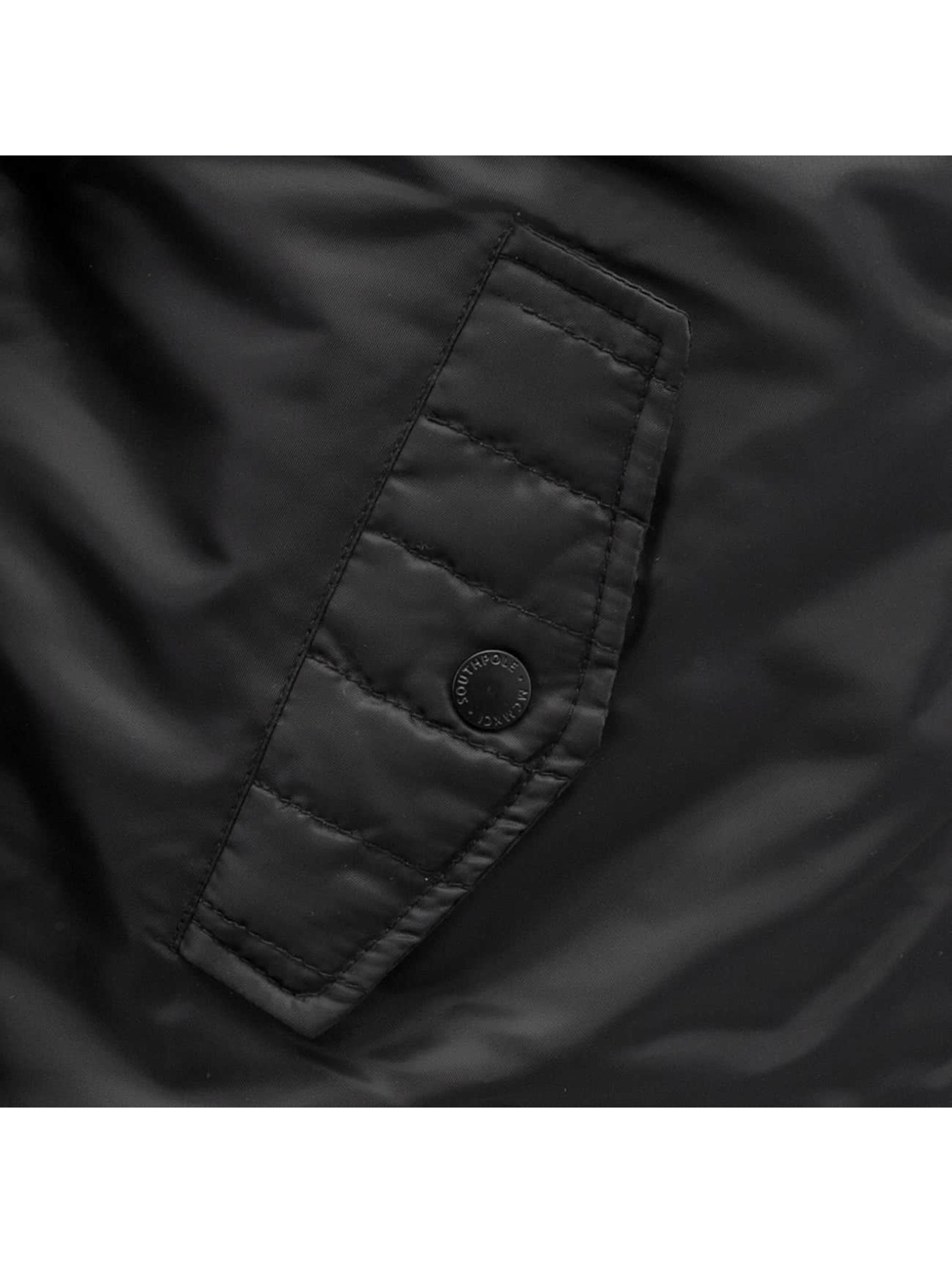 Southpole Övergångsjackor Bomber svart