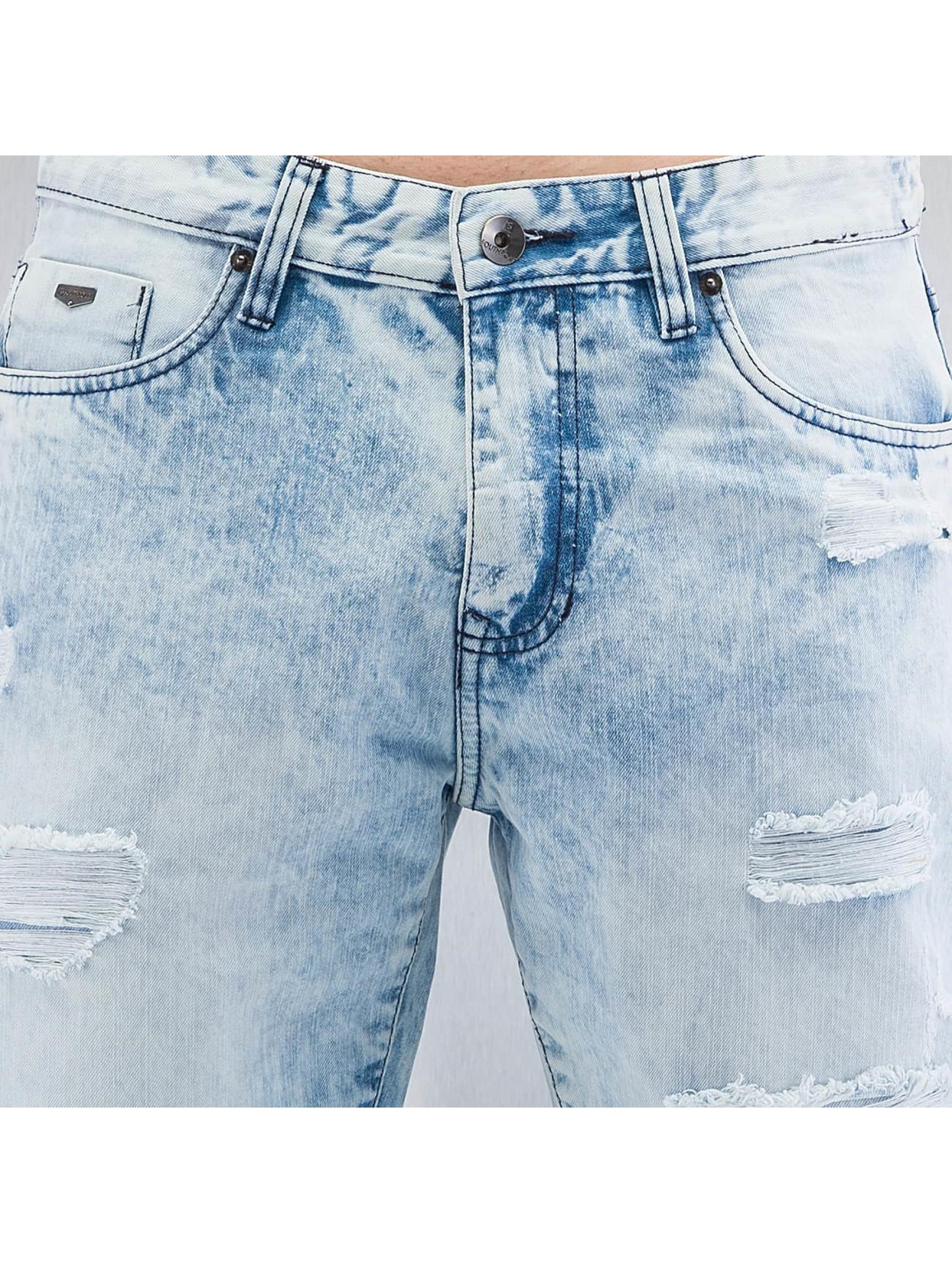 Southpole Rovné Ripped Slim modrá