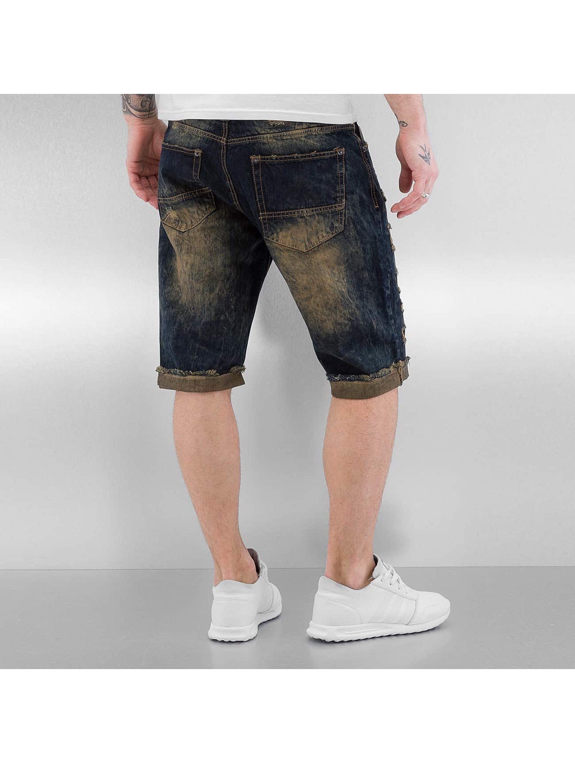Southpole Short Ripped blue