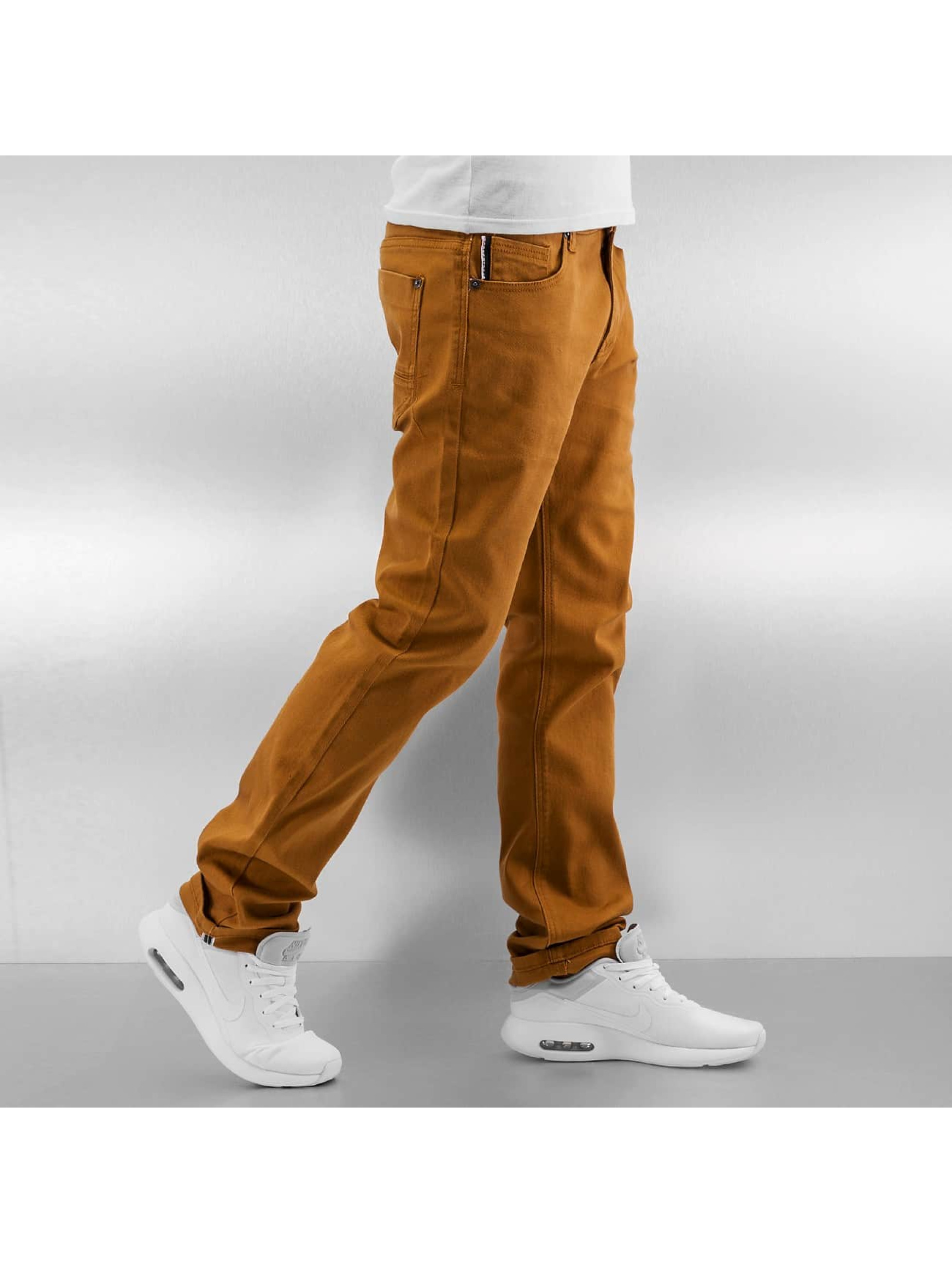 Southpole Straight Fit Jeans Vernon braun