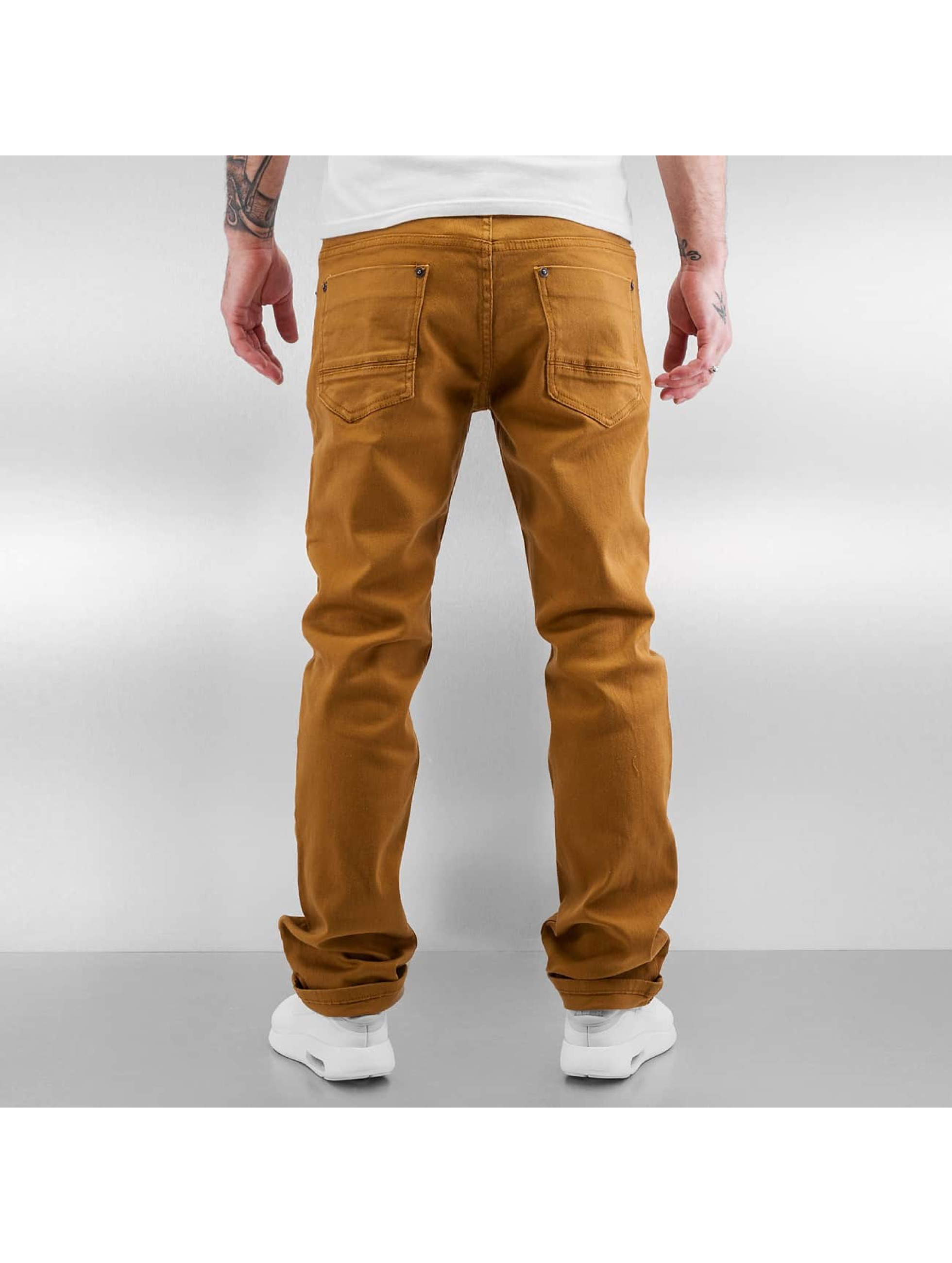 Southpole Straight Fit Jeans Vernon brown