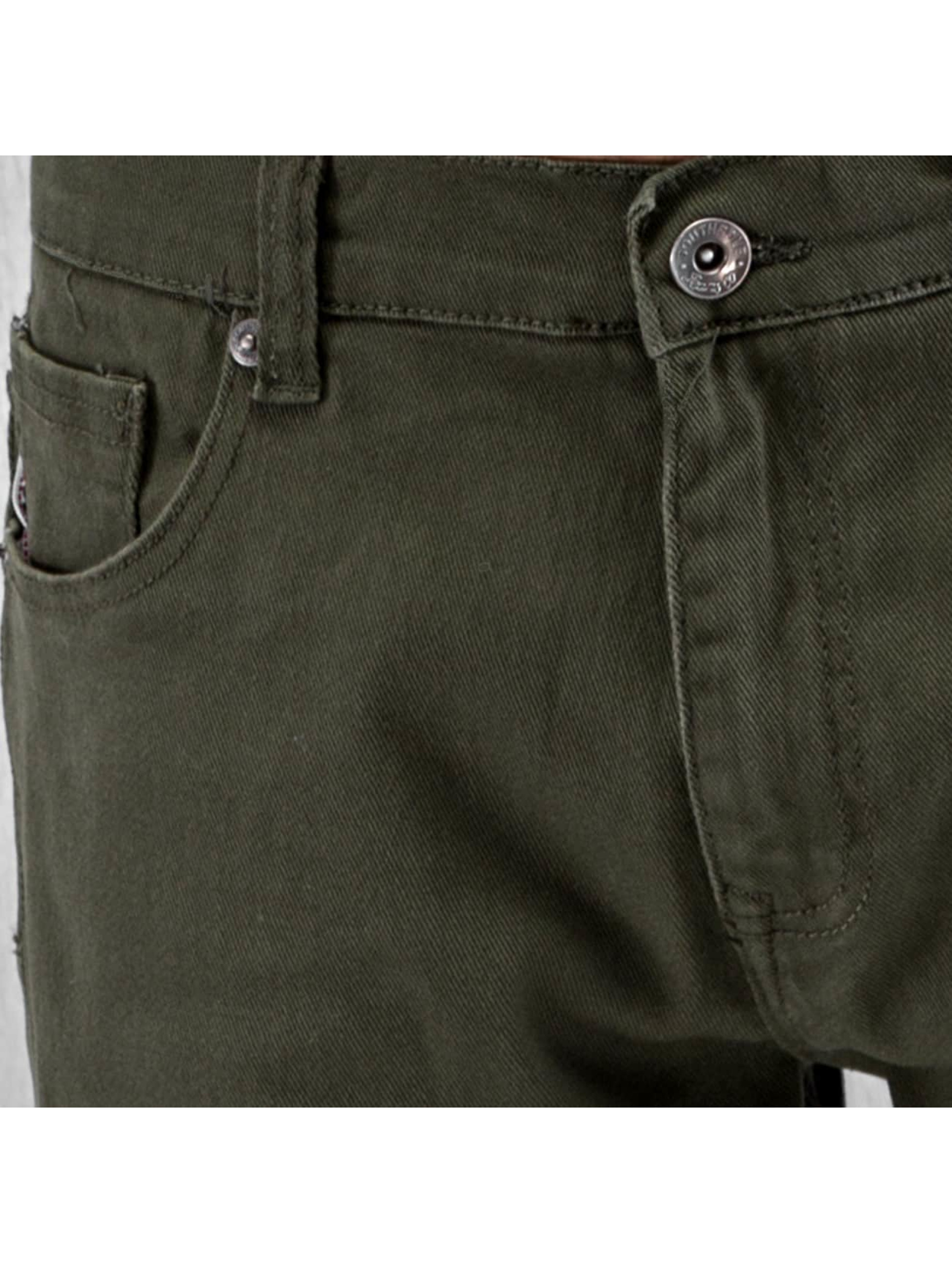 Southpole Straight fit jeans Vernon olijfgroen