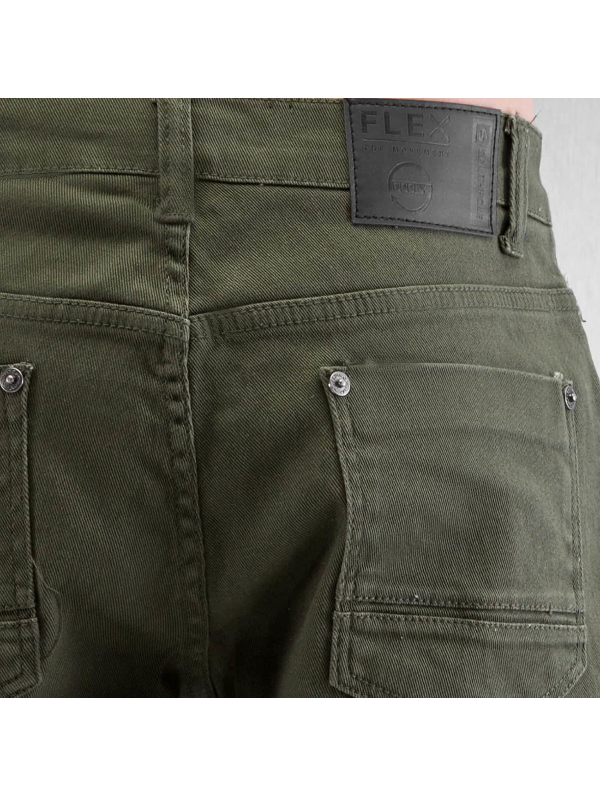 Southpole Straight Fit Jeans Vernon olive